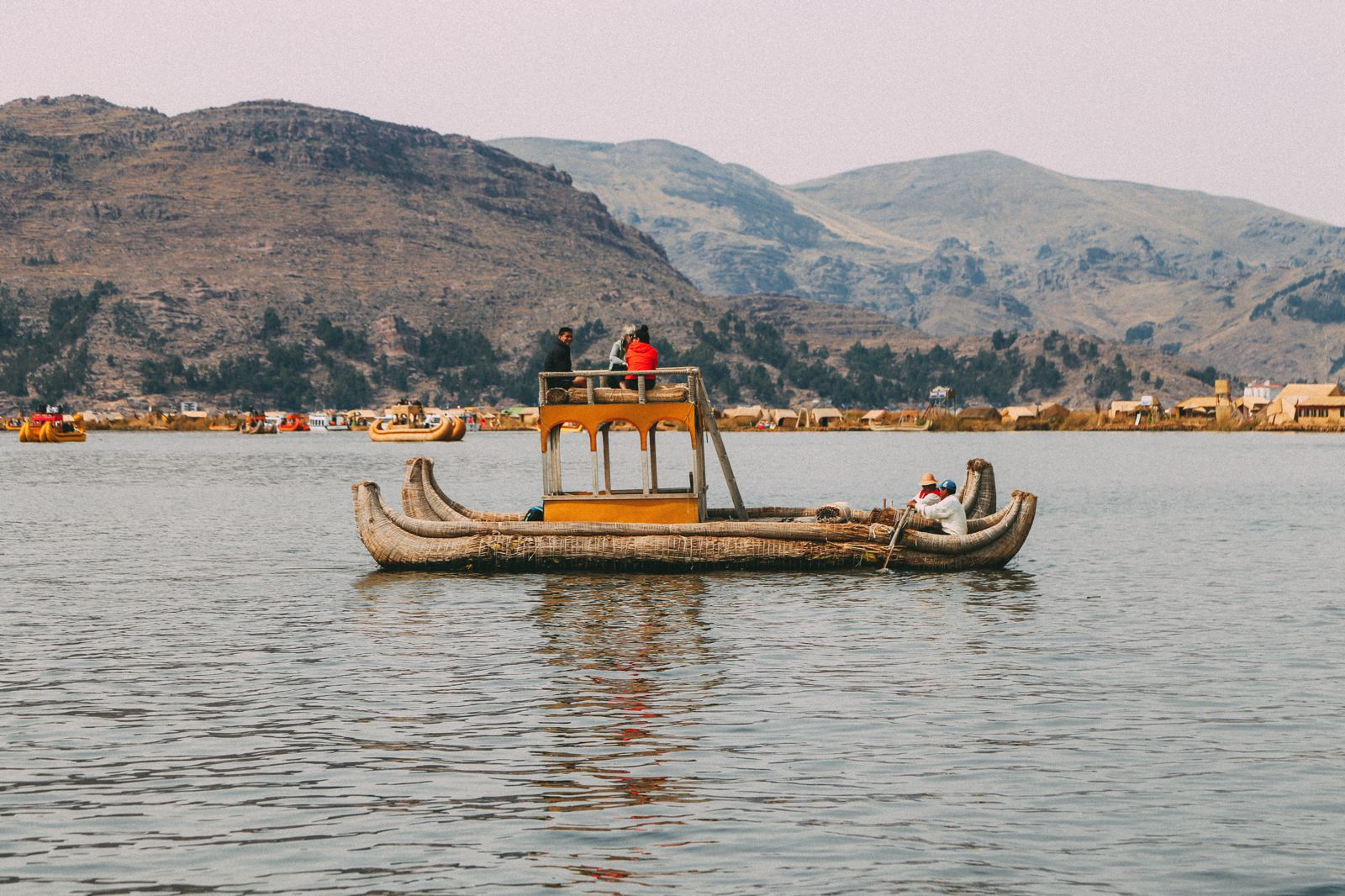 Exploring The Amazing Uros Floating Islands Of Lake Titicaca... In Peru (53)