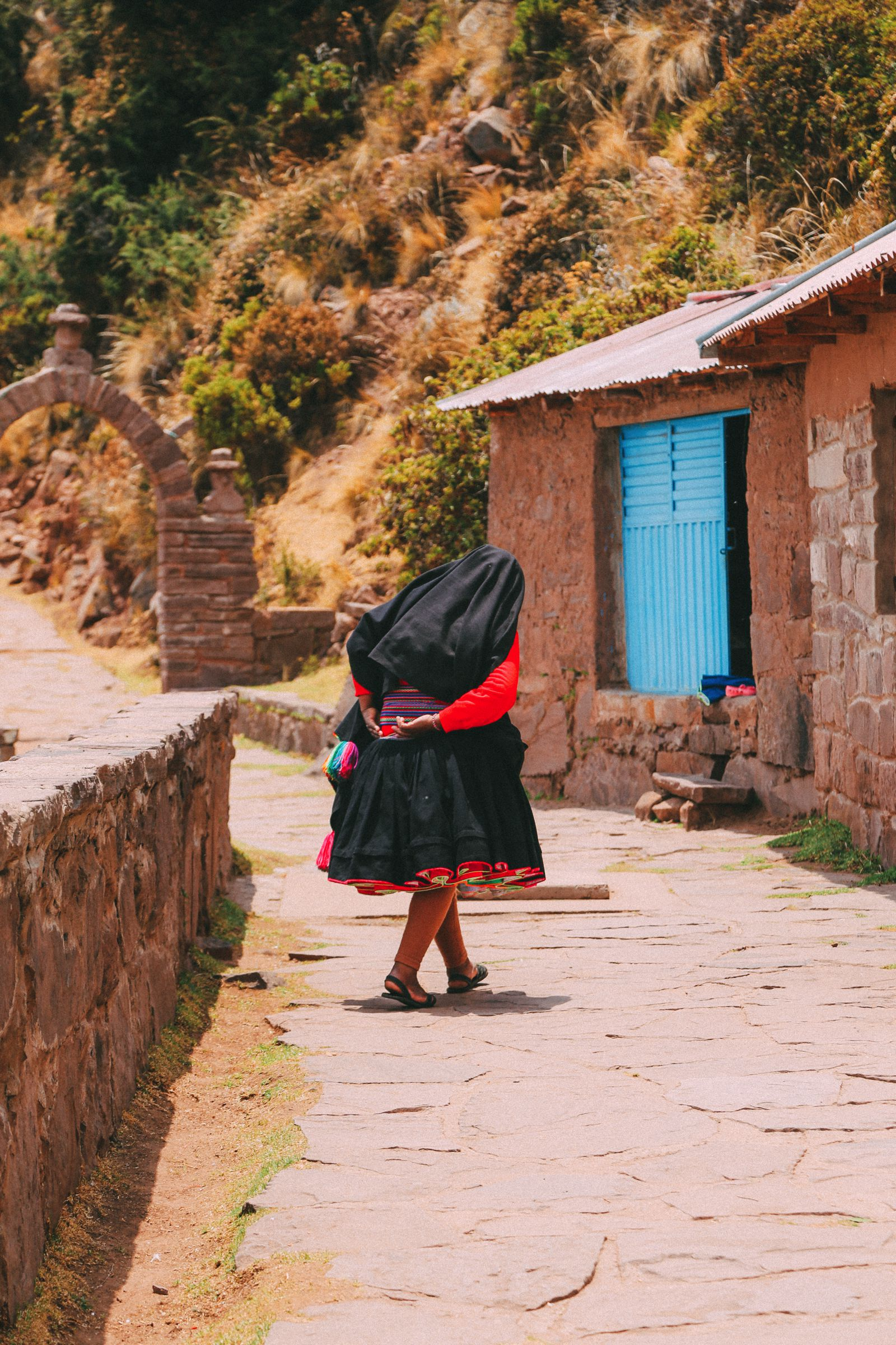 An Afternoon in Taquile Island, Peru (5)