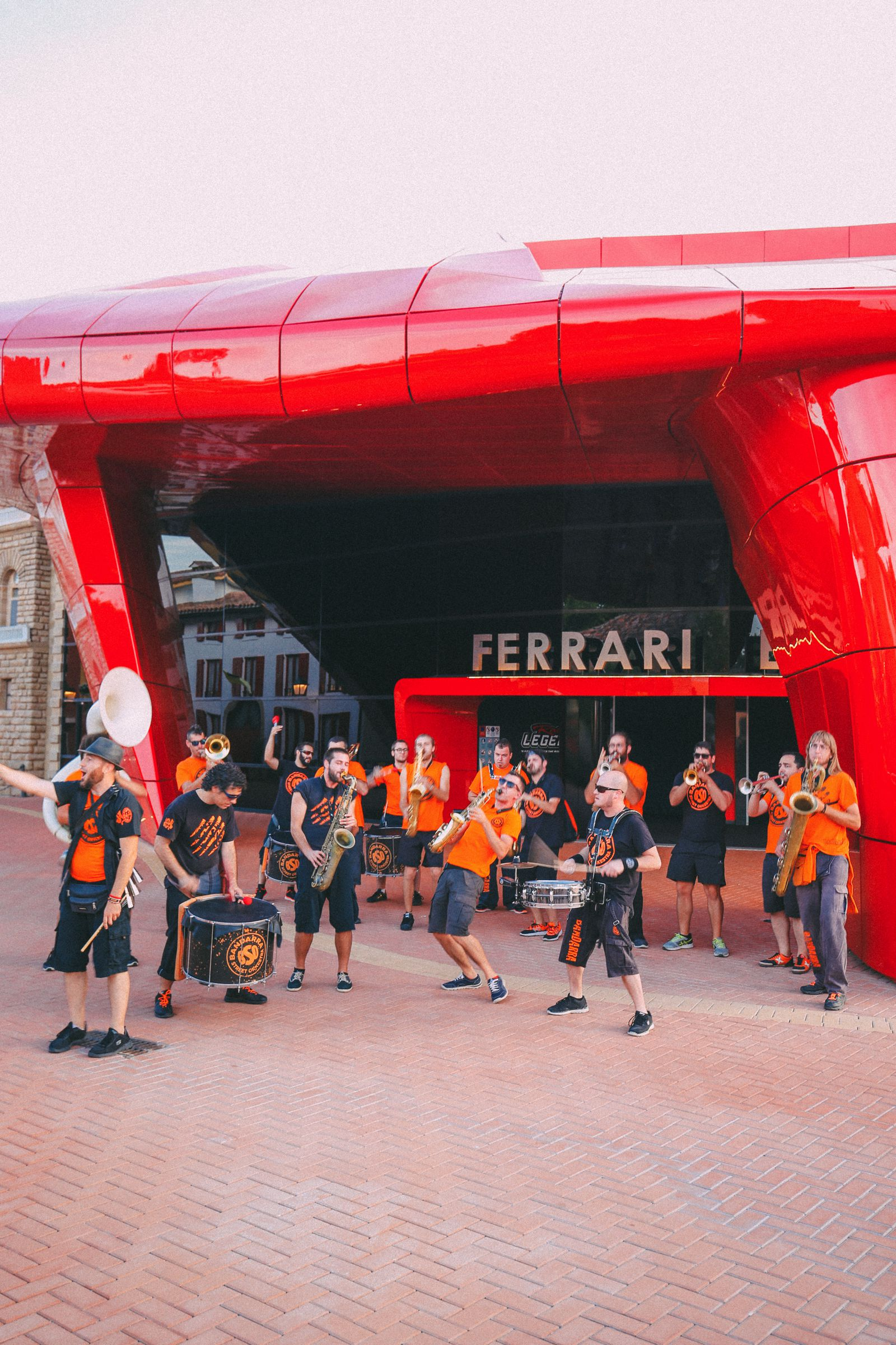 Midnight Partying At Ferrari Land... In PortAventura, Spain (32)