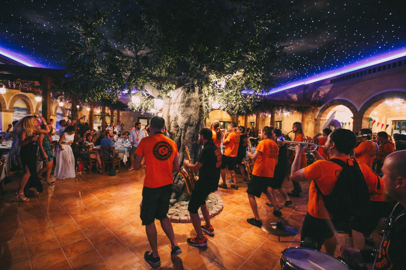 Midnight Partying At Ferrari Land... In PortAventura, Spain (46)