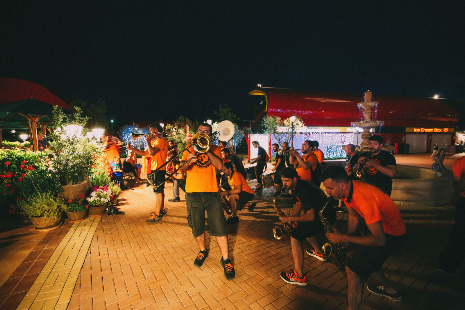 Midnight Partying At Ferrari Land... In PortAventura, Spain (49)