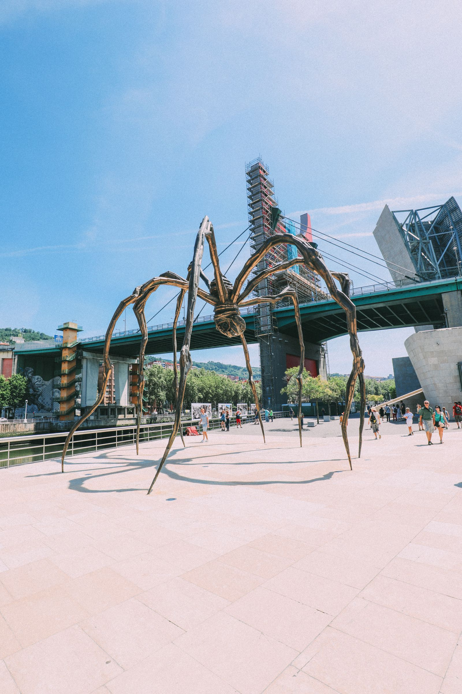 Art, Fish, A Gigantic Spider And Amazing Food In Bilbao, Spain (34)