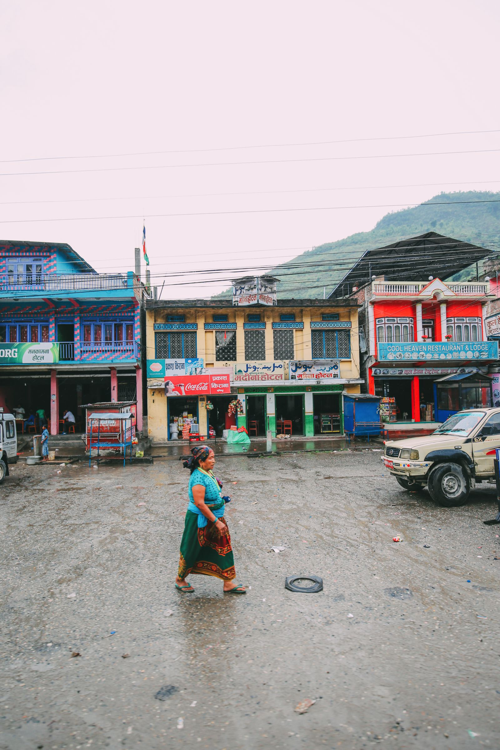 The Long Road From Pokhara To Kathmandu, Nepal (7)