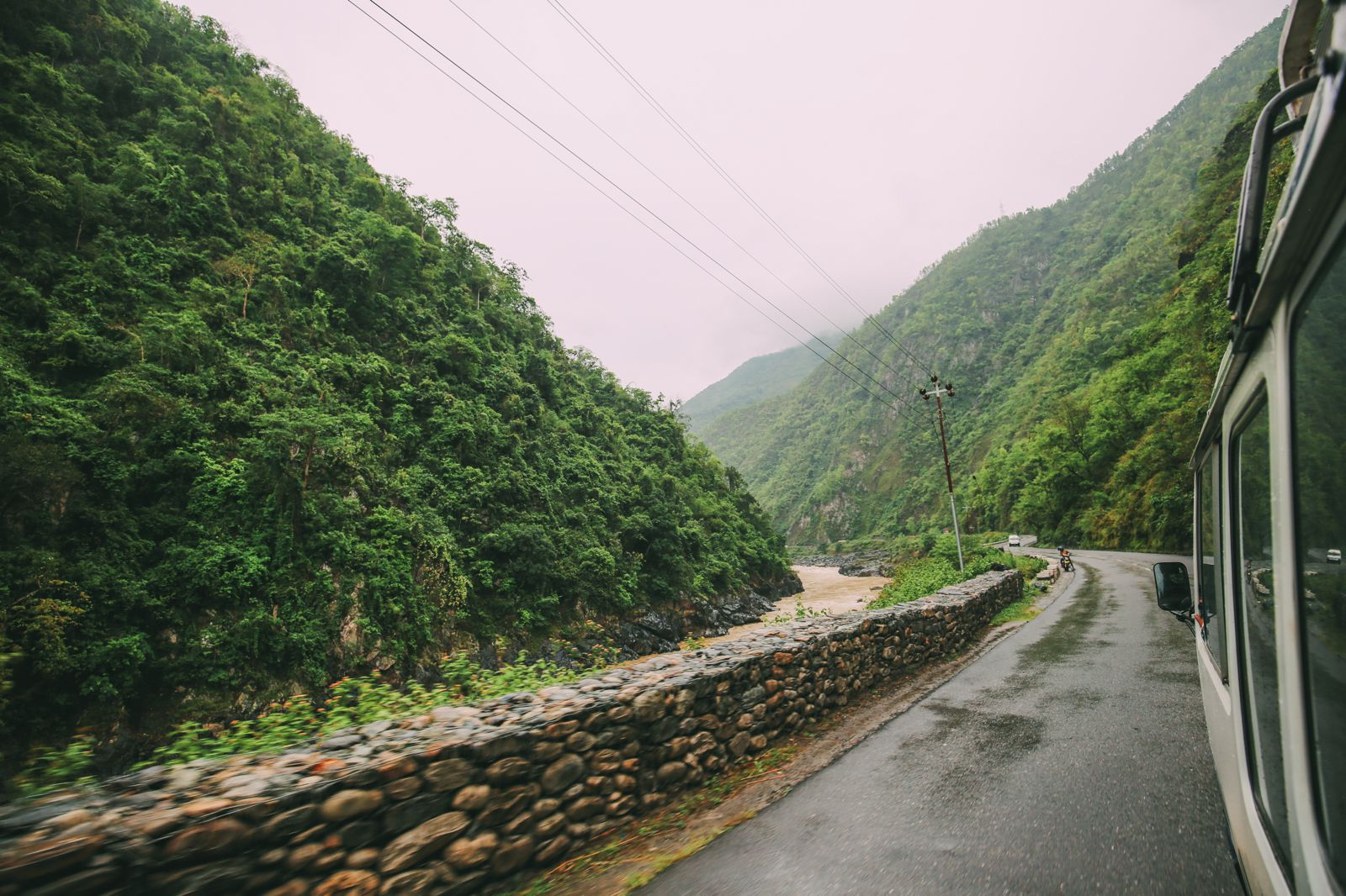The Long Road From Pokhara To Kathmandu, Nepal (11)