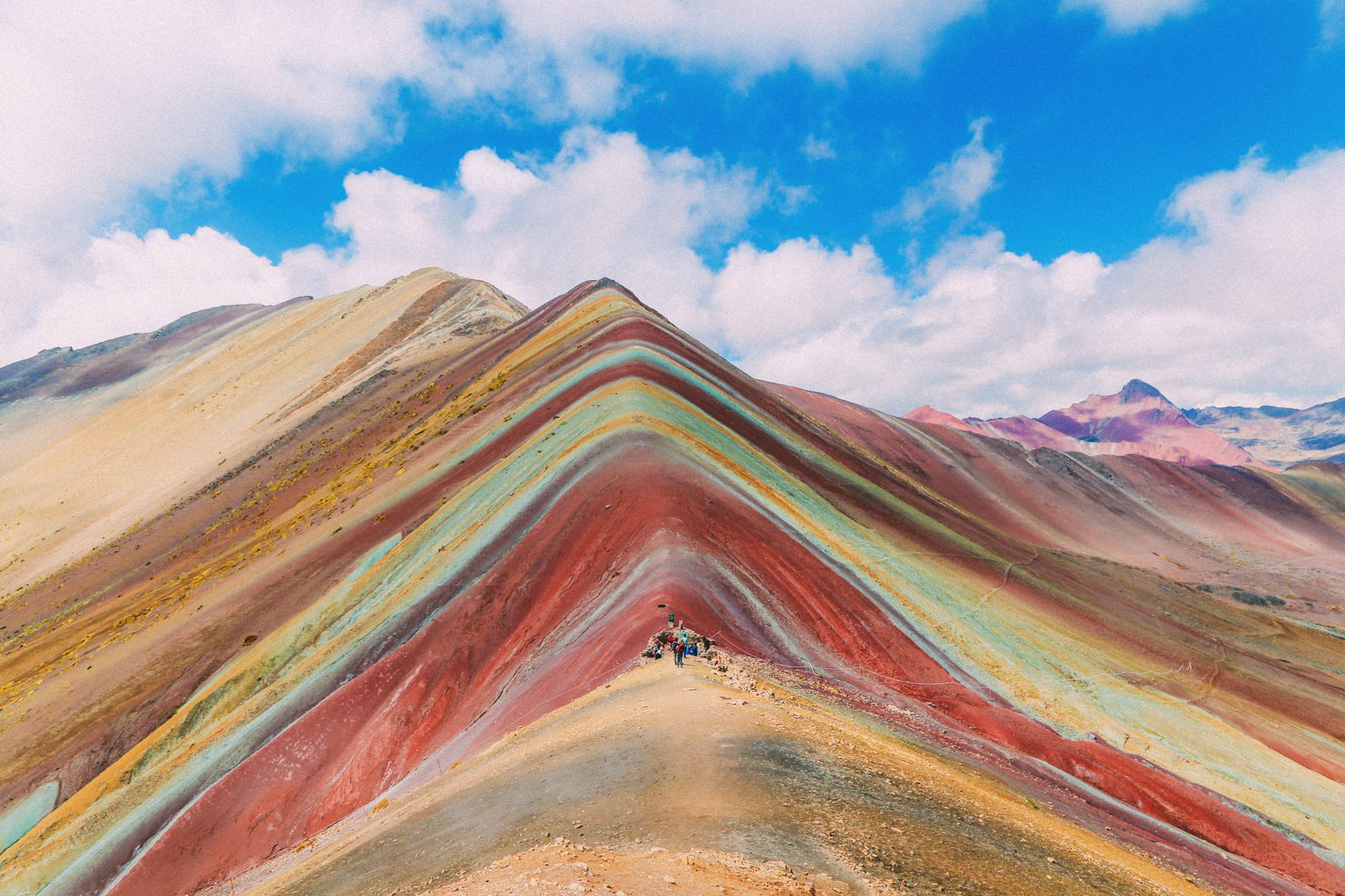 The Amazing Rainbow Mountains Of Peru