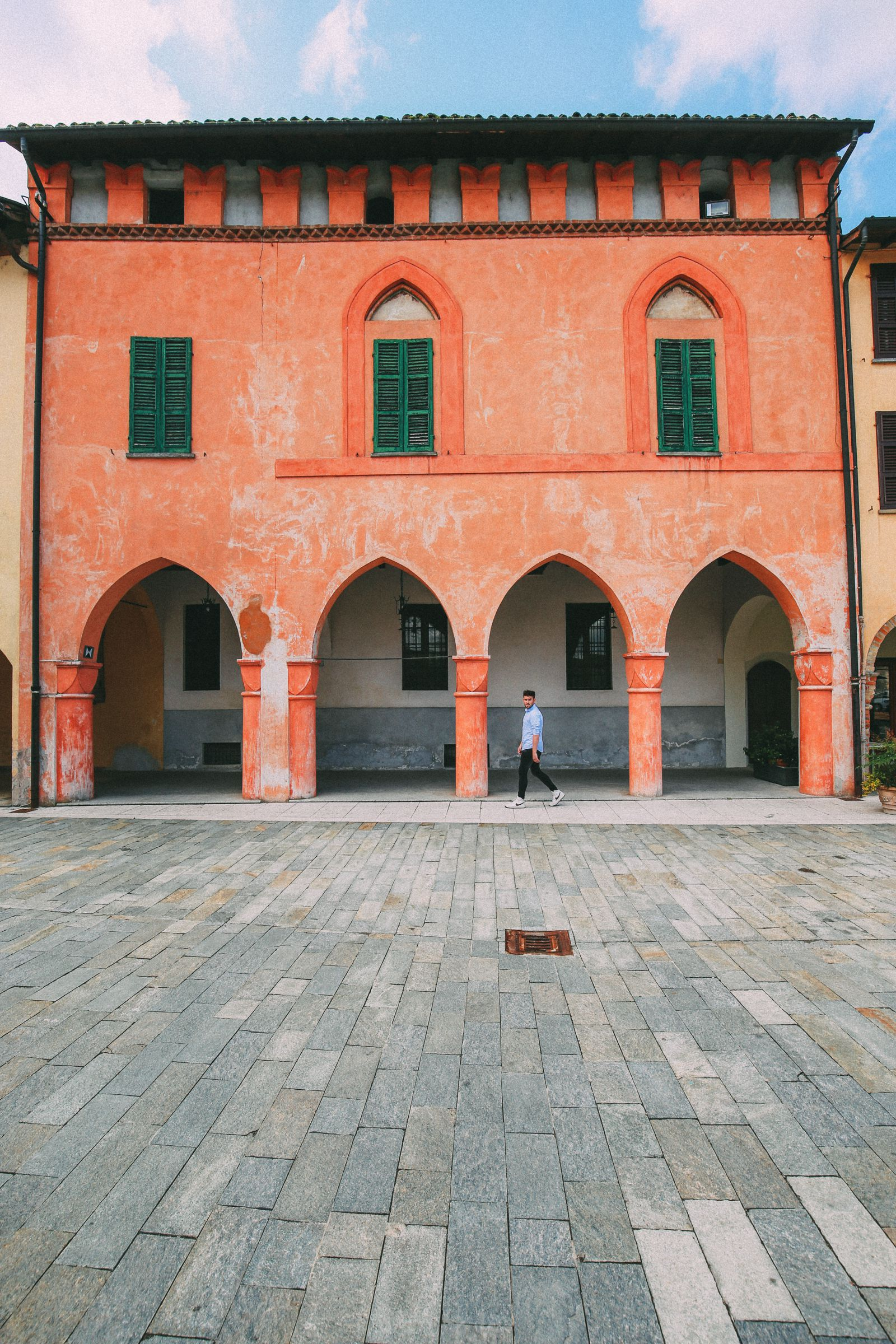 The Most Amazing Noble Villa And An Afternoon In Pizzighettone… In Lombardy, Italy (36)