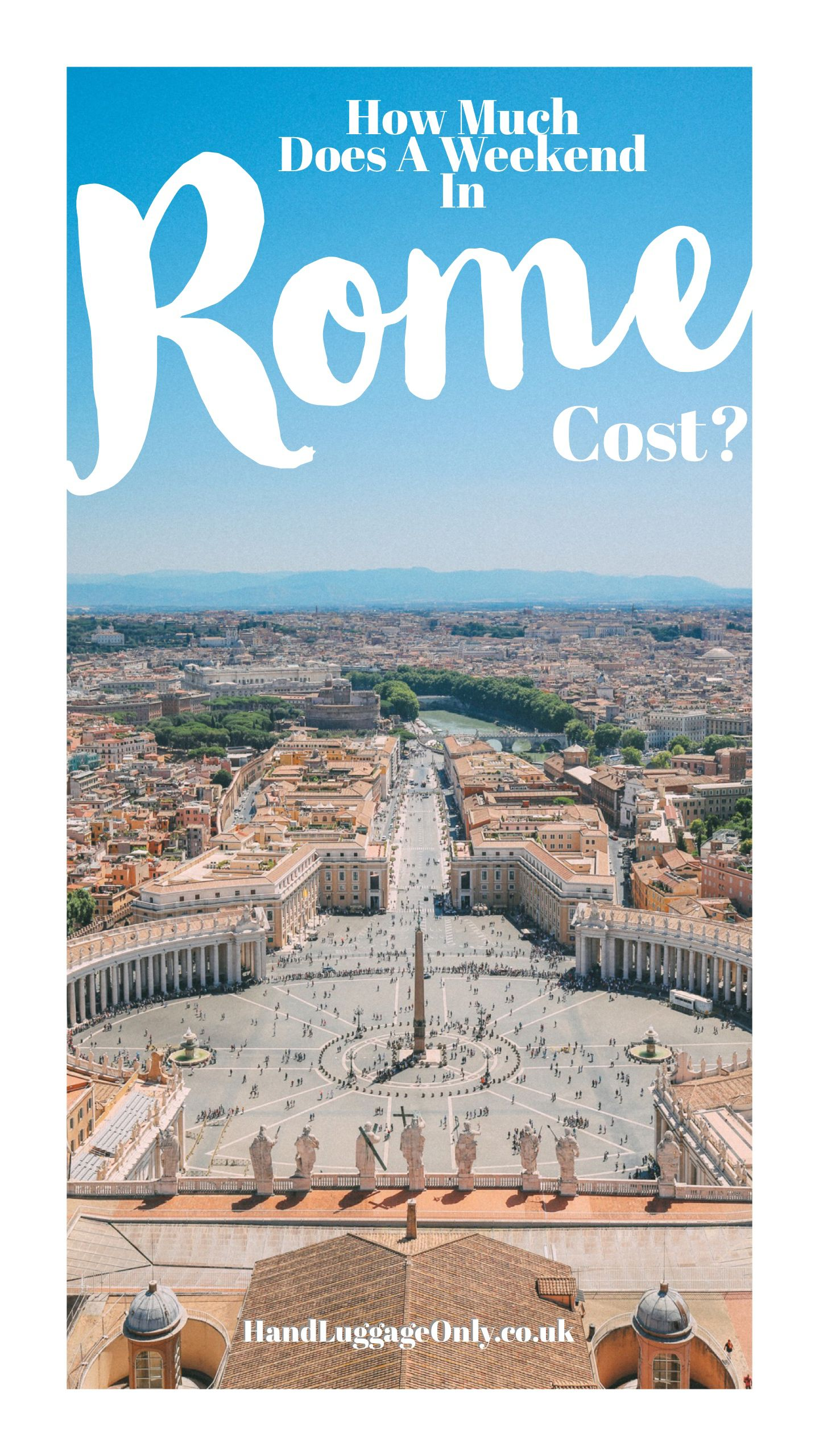 How Much Does A Weekend In Rome Cost?