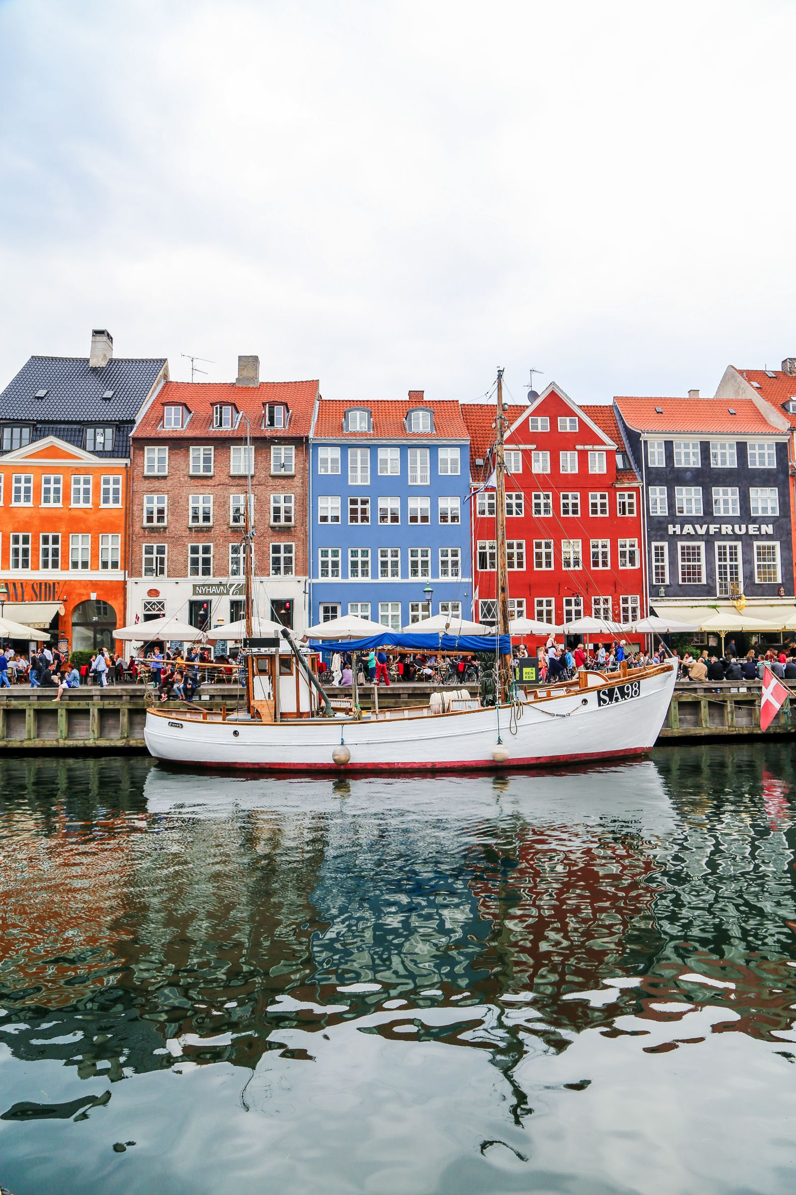 Colourful Houses Nyhavn in Copenhagen -