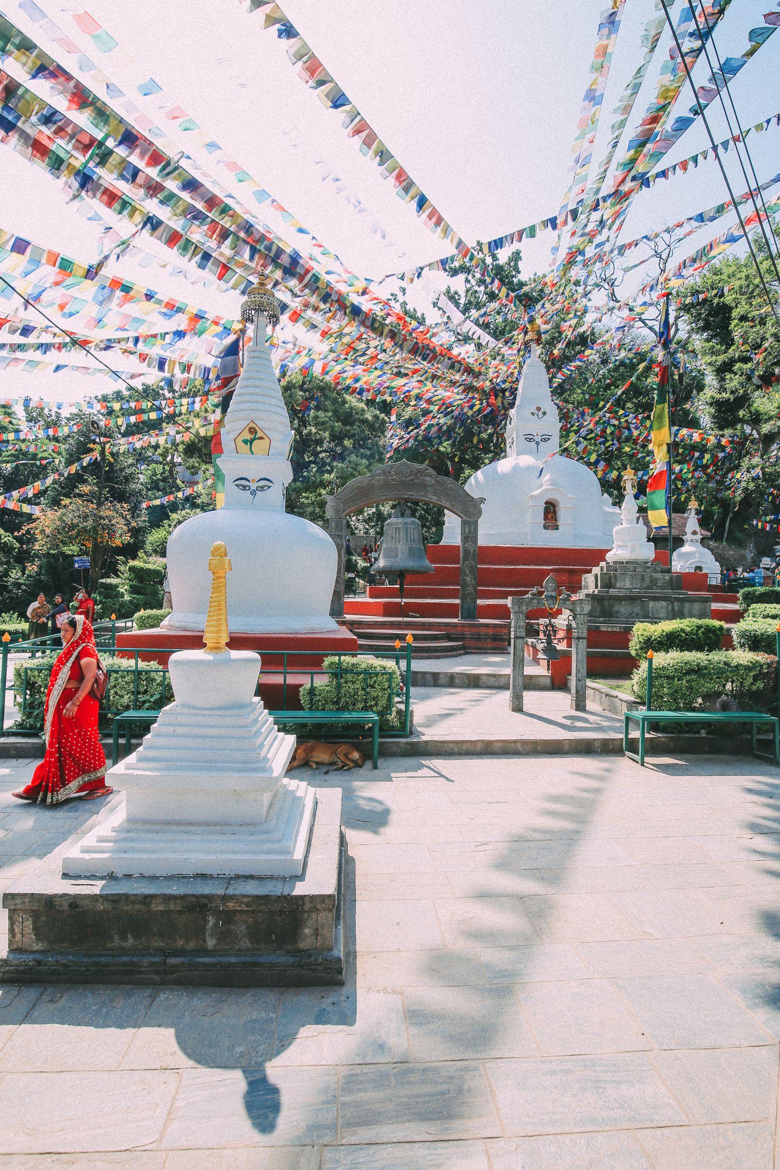 Exploring Swayambhunath Stupa - The Monkey Temple In Kathmandu, Nepal (1)