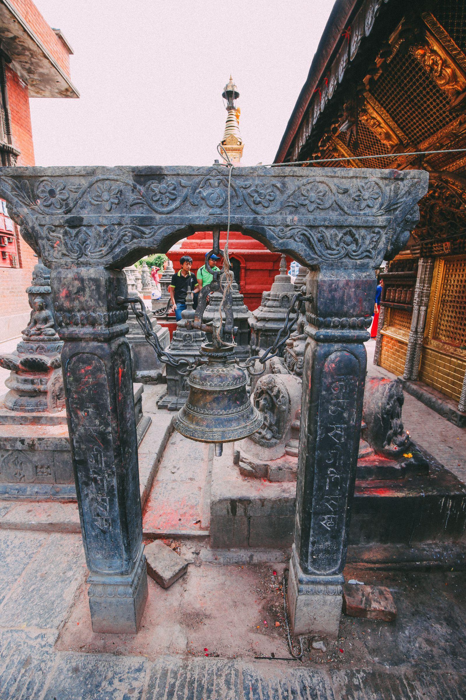 Exploring Swayambhunath Stupa - The Monkey Temple In Kathmandu, Nepal (15)