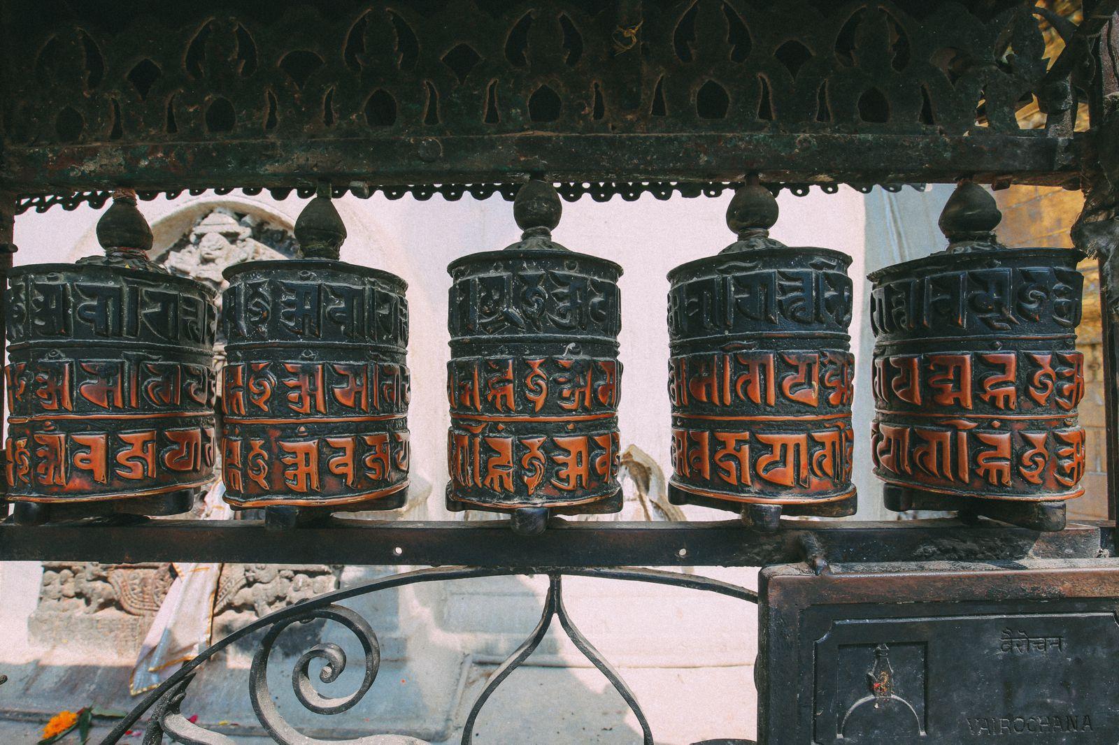 Exploring Swayambhunath Stupa - The Monkey Temple In Kathmandu, Nepal (28)