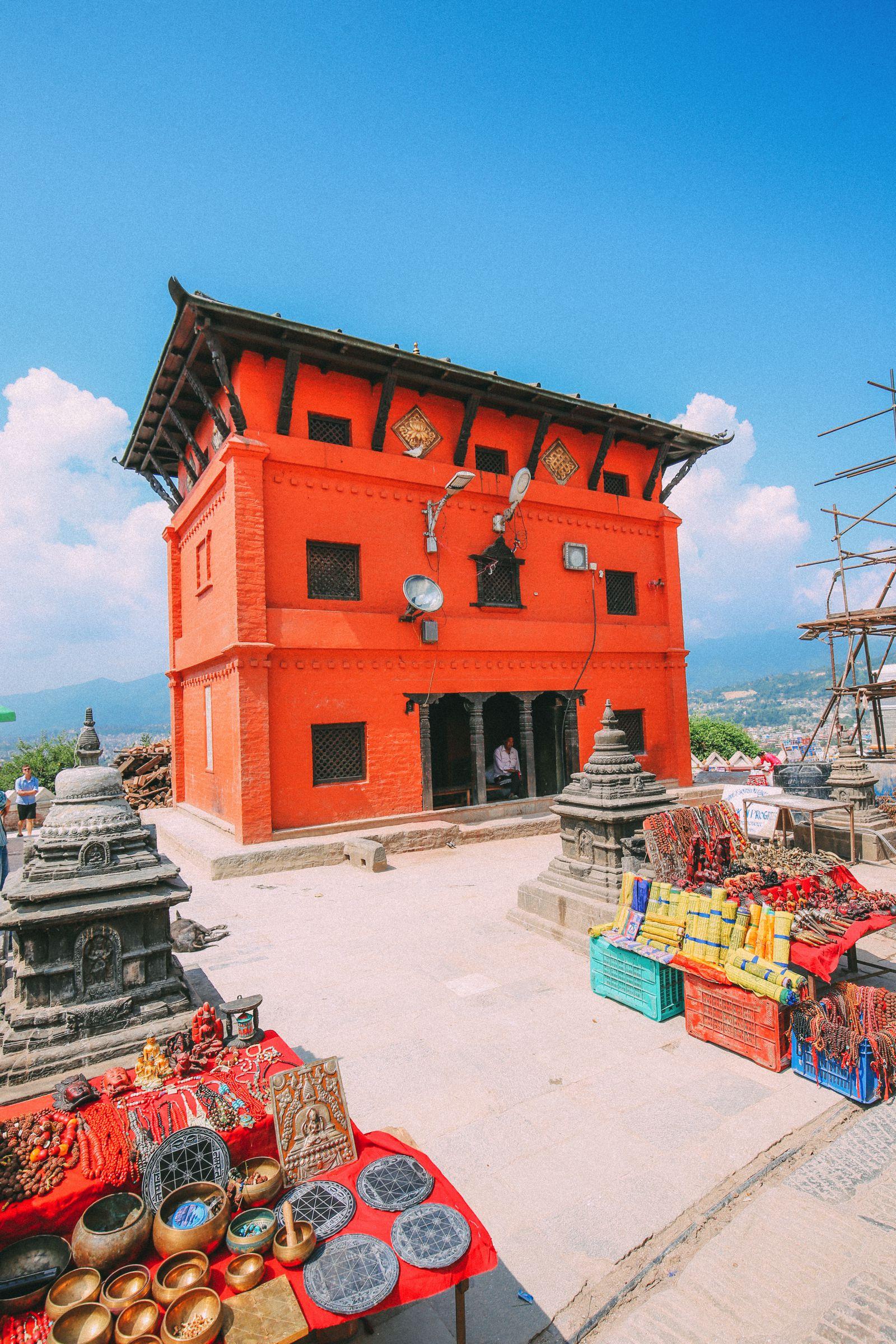 Exploring Swayambhunath Stupa - The Monkey Temple In Kathmandu, Nepal (29)