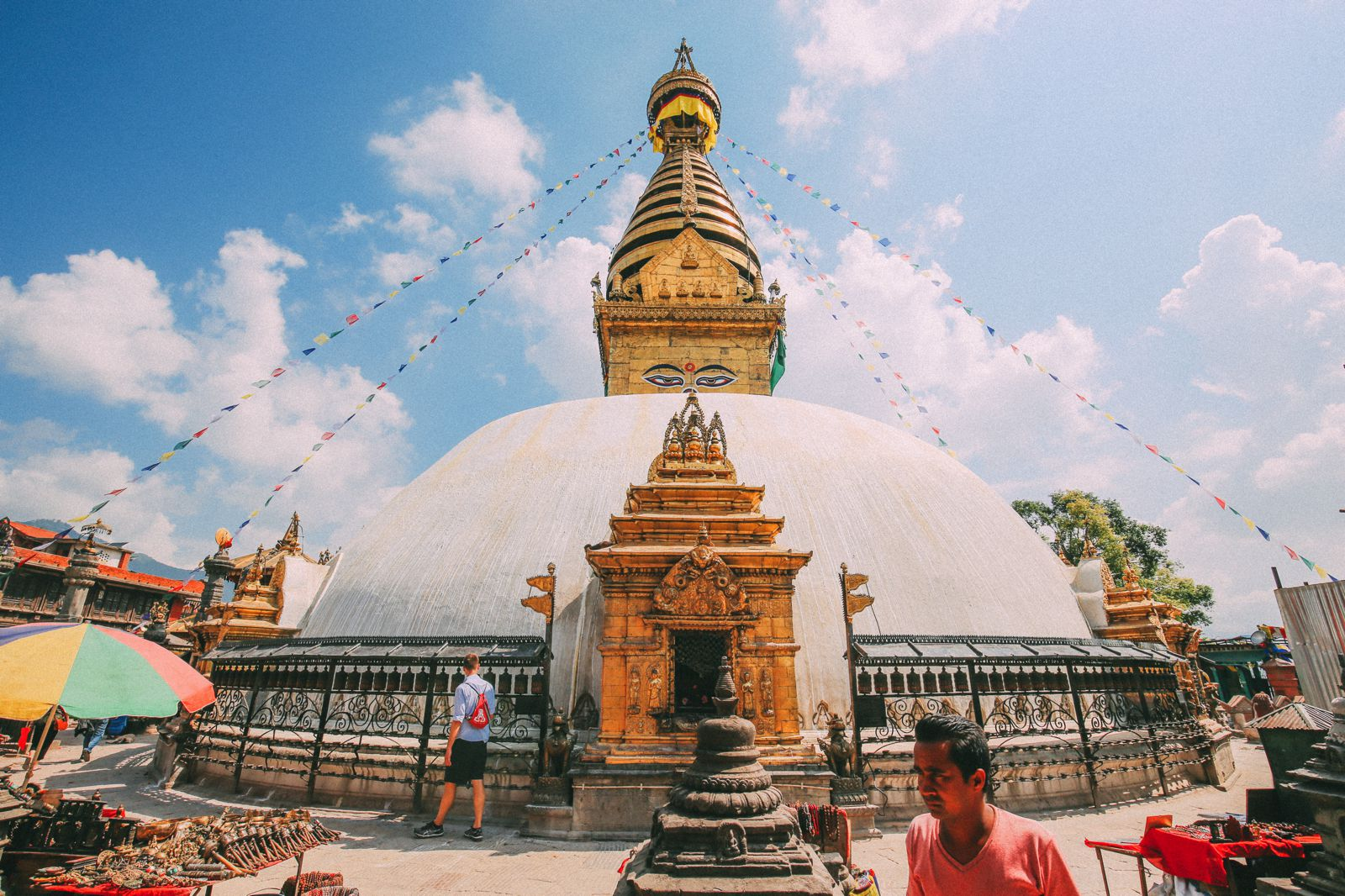 Exploring Swayambhunath Stupa - The Monkey Temple In Kathmandu, Nepal (30)