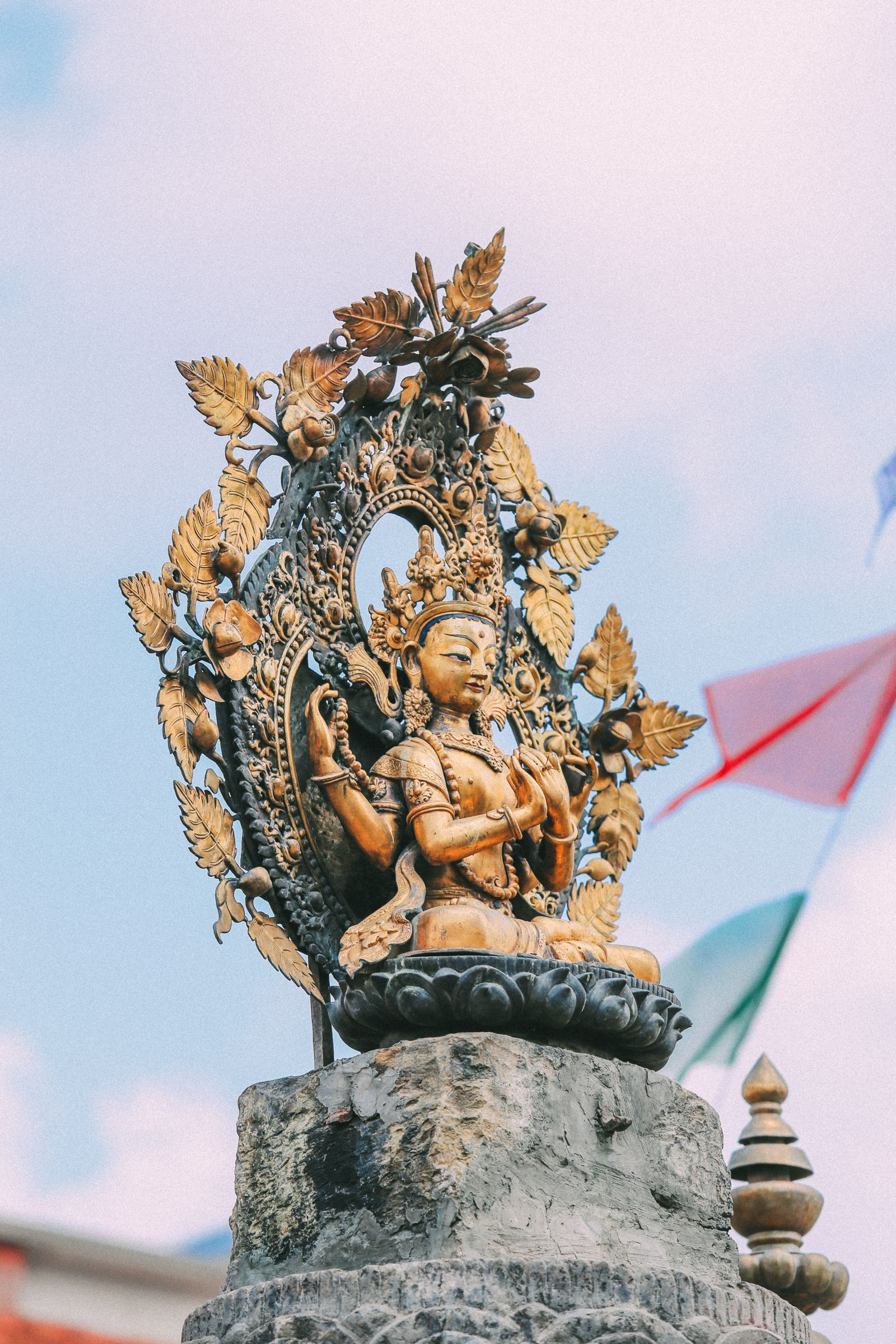 Exploring Swayambhunath Stupa - The Monkey Temple In Kathmandu, Nepal (34)