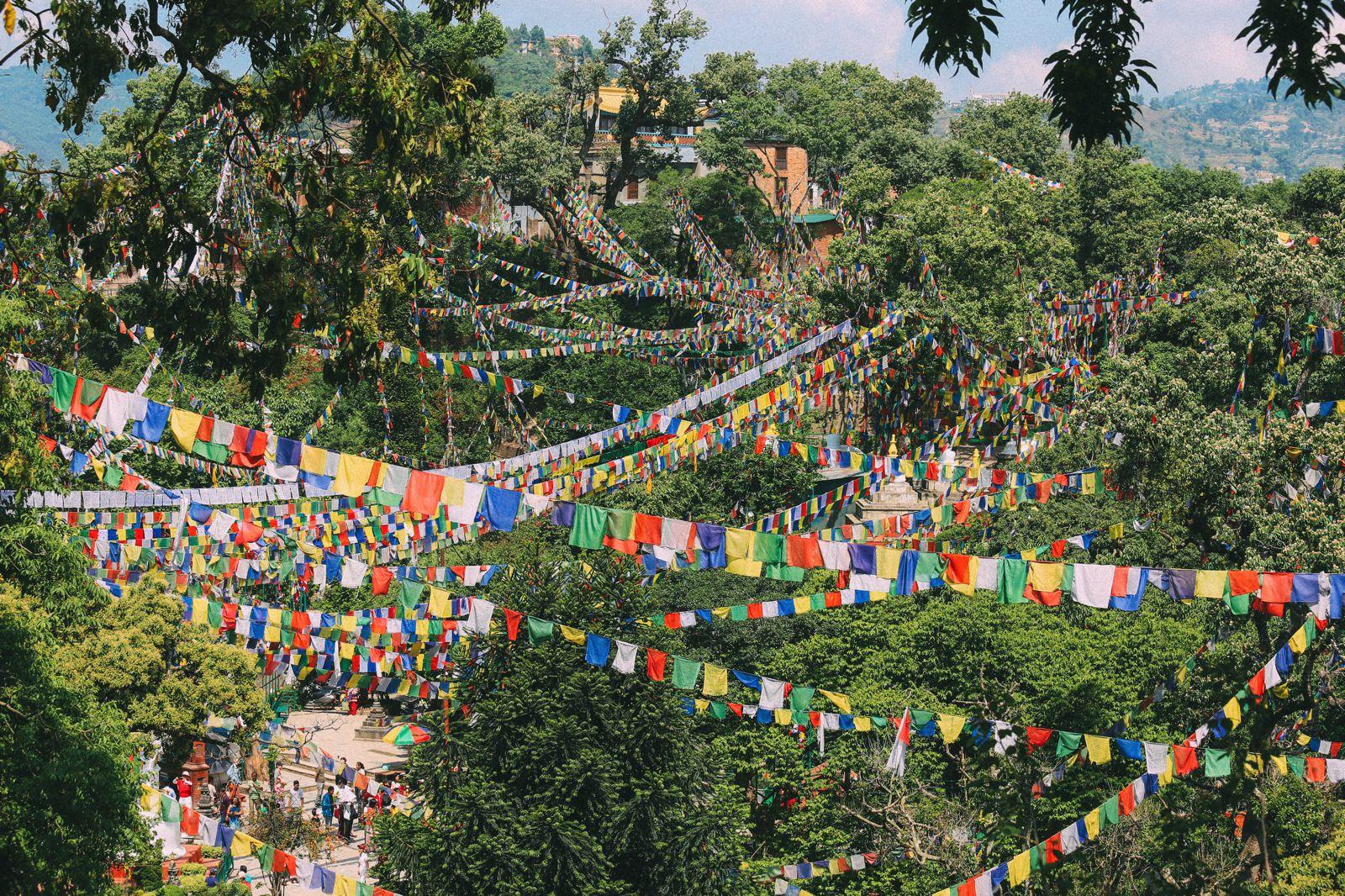Exploring Swayambhunath Stupa - The Monkey Temple In Kathmandu, Nepal (43)