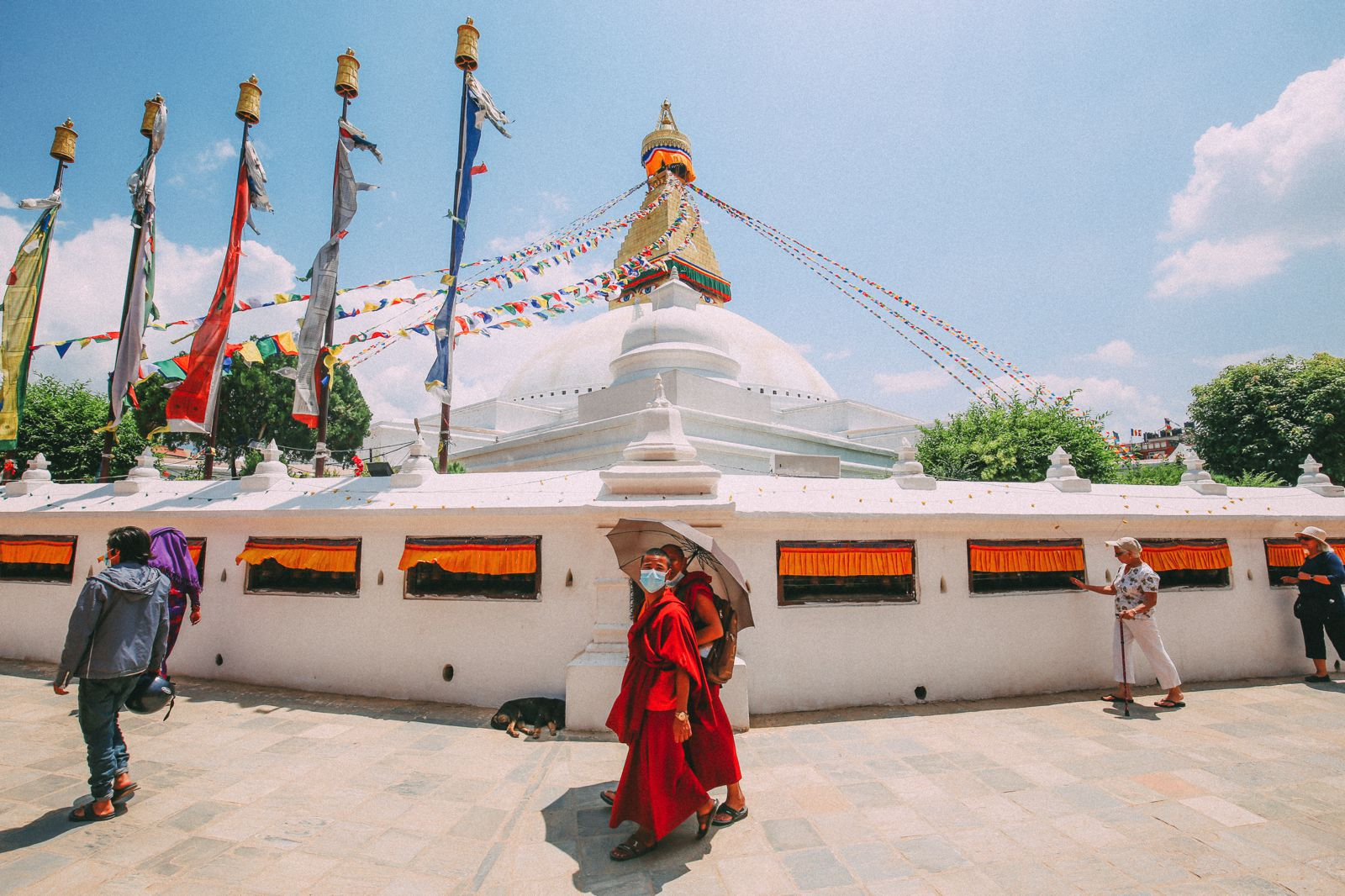 The UNESCO World Heritage Site Of Boudhanath Stupa In Kathmandu, Nepal (4)