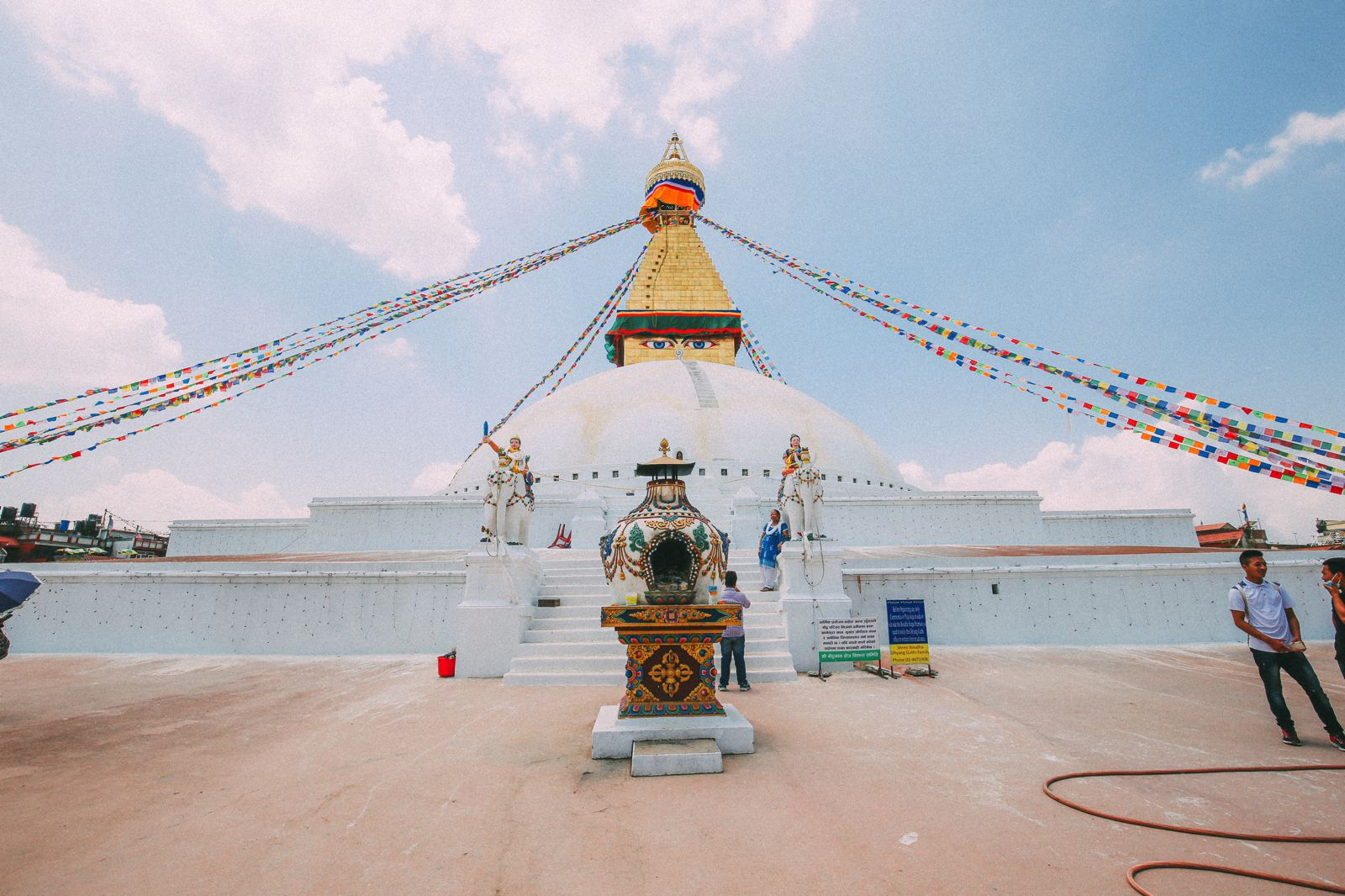 The UNESCO World Heritage Site Of Boudhanath Stupa In Kathmandu, Nepal (9)