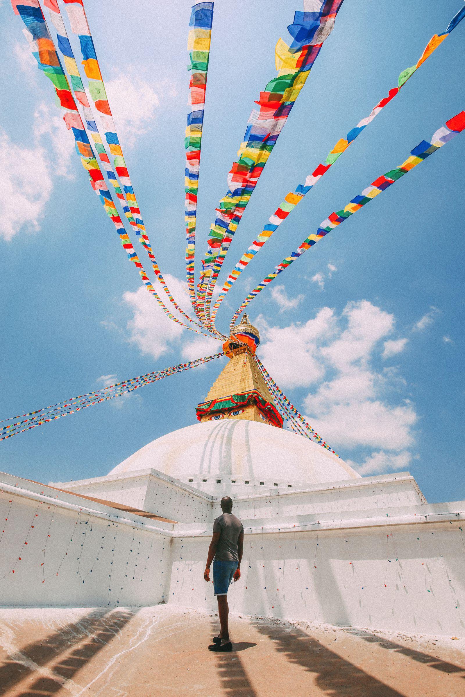 The UNESCO World Heritage Site Of Boudhanath Stupa In Kathmandu, Nepal (11)