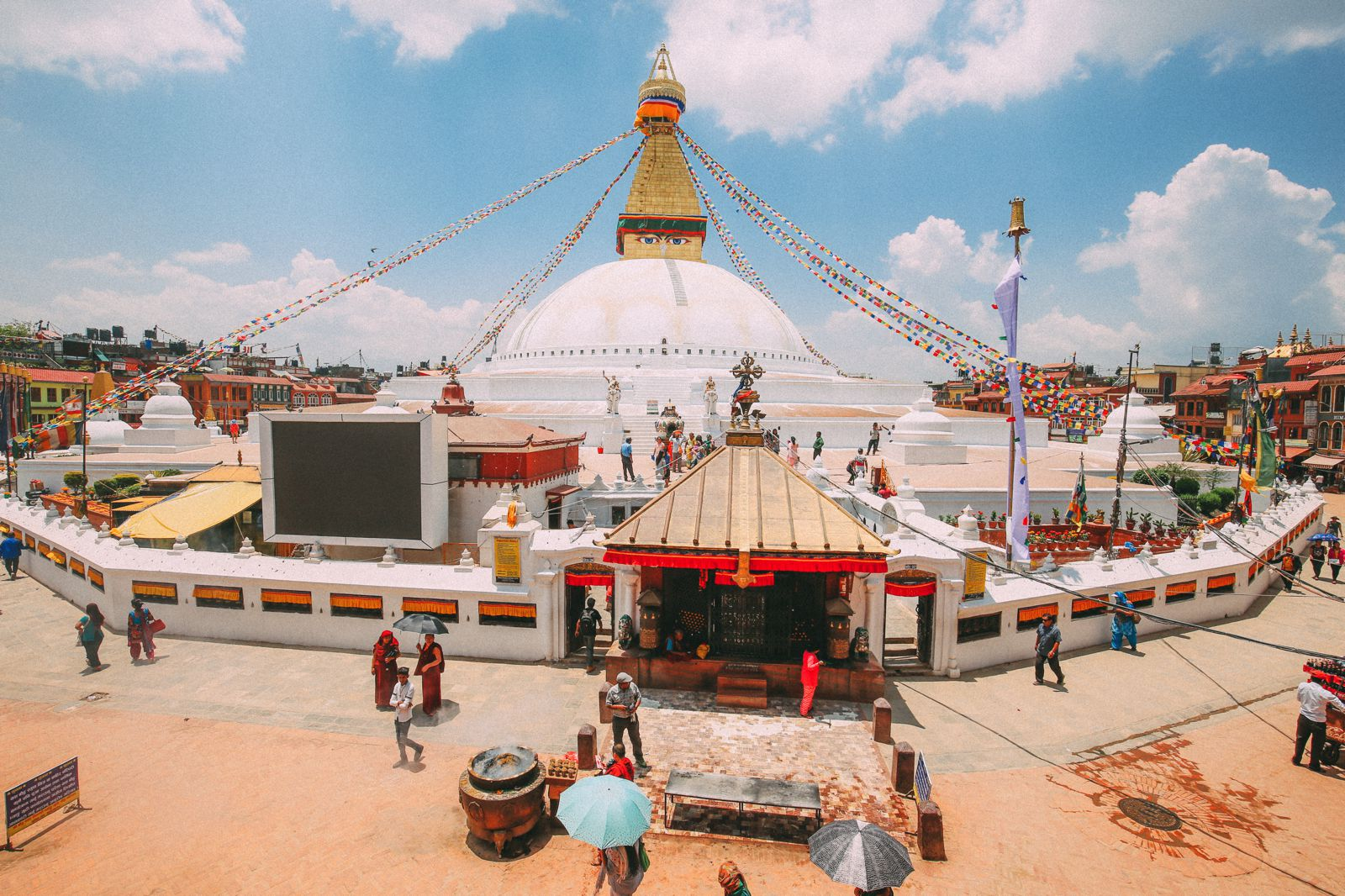 The UNESCO World Heritage Site Of Boudhanath Stupa In Kathmandu, Nepal (29)