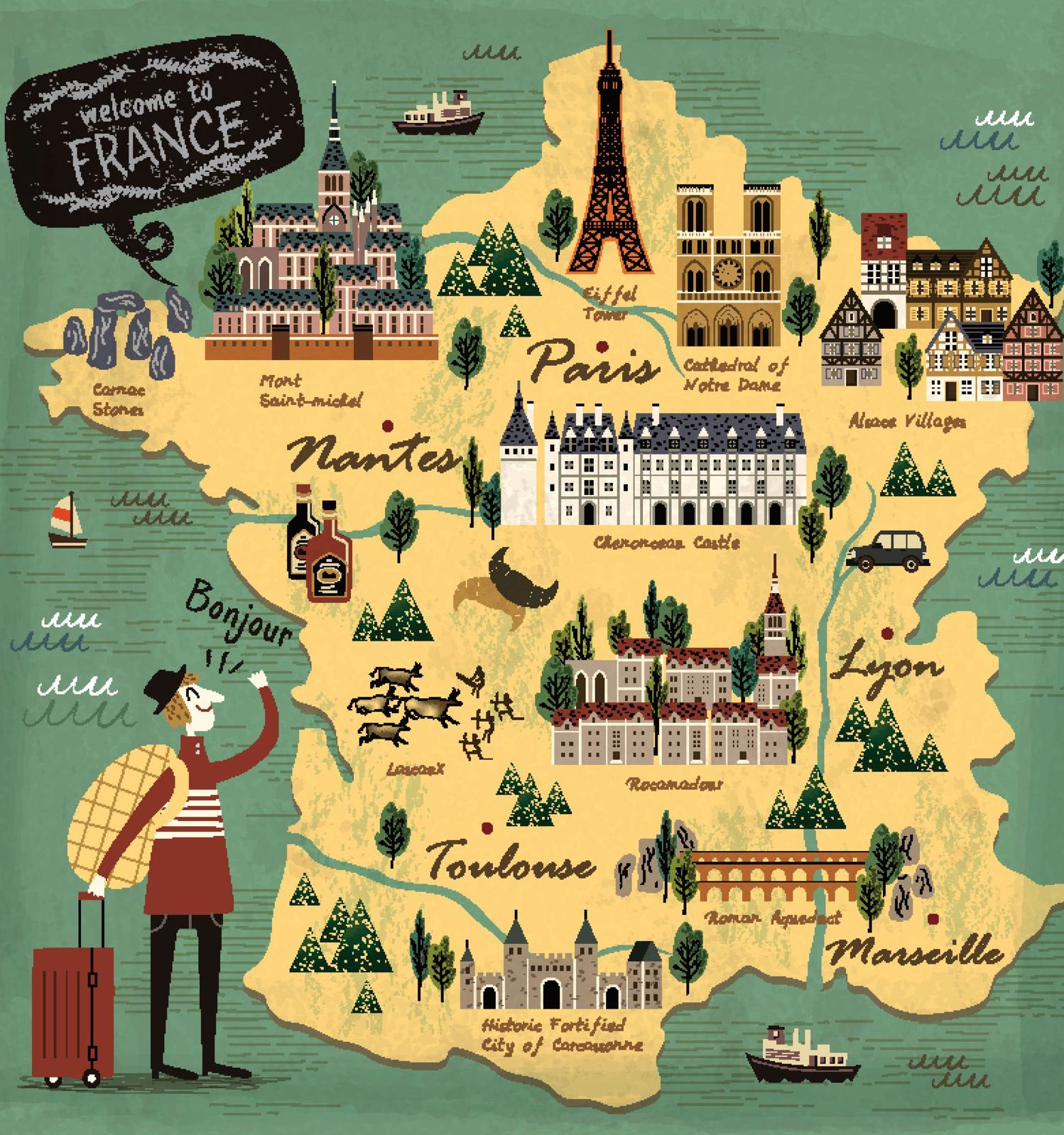 Places To See And Visit In France