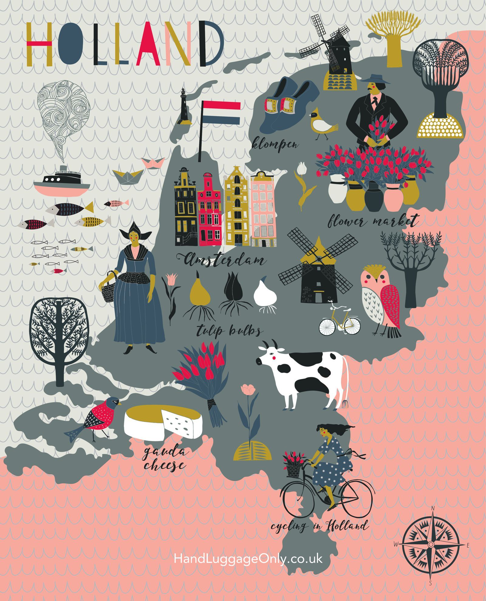 Places To Visit In Holland Netherlands