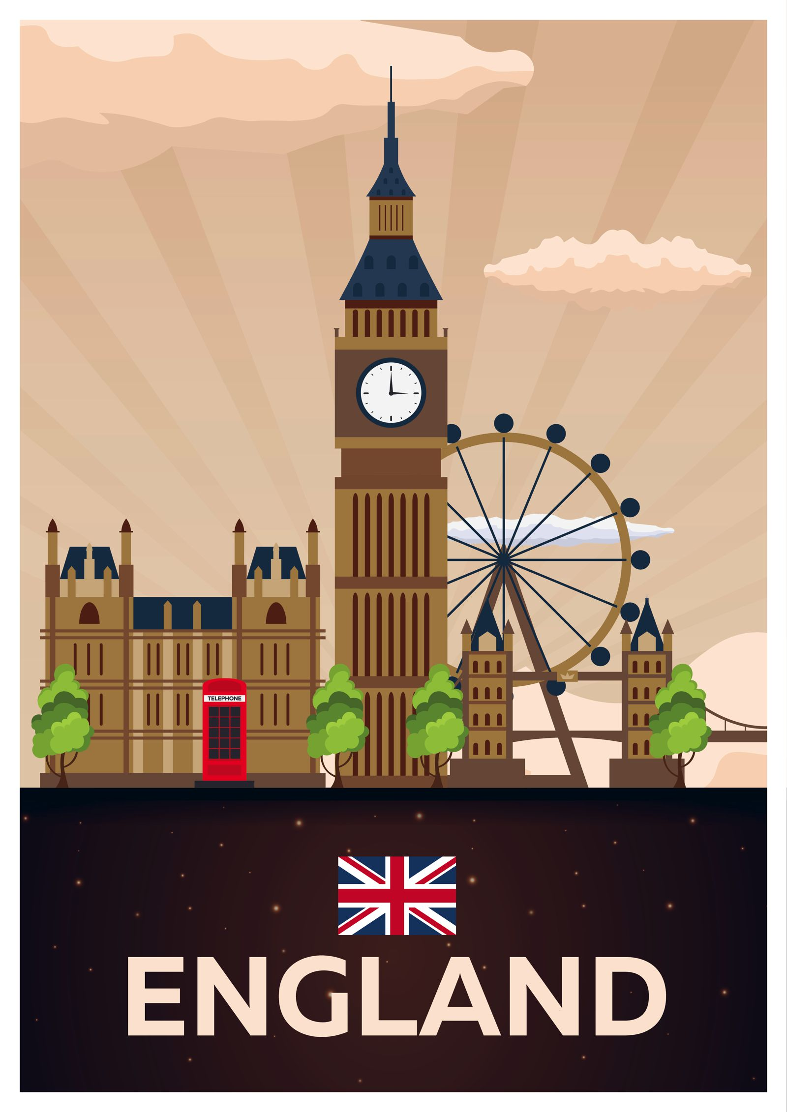 Places to see visit in England
