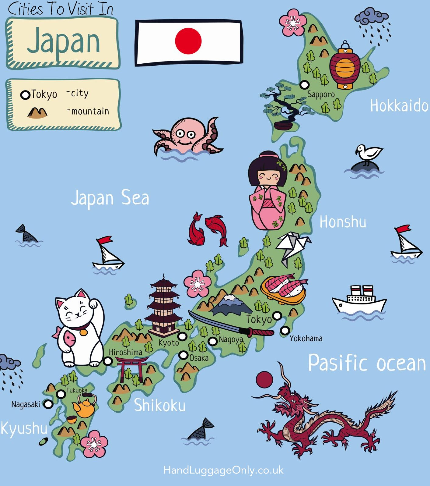 Cities To Visit In Japan