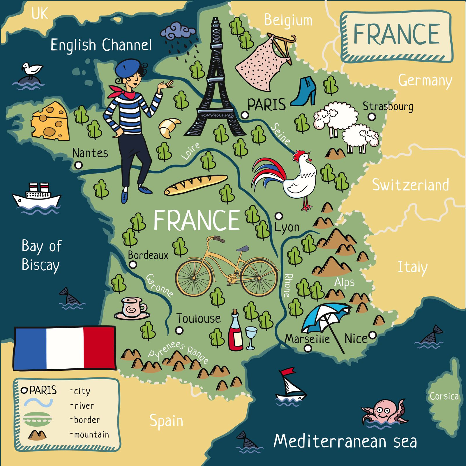 Map Of France Germany.12 Stunning Places You Must Visit On A Road Trip In France Hand