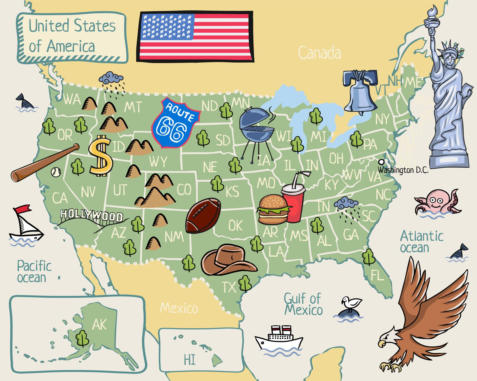 Places To See And Visit In USA