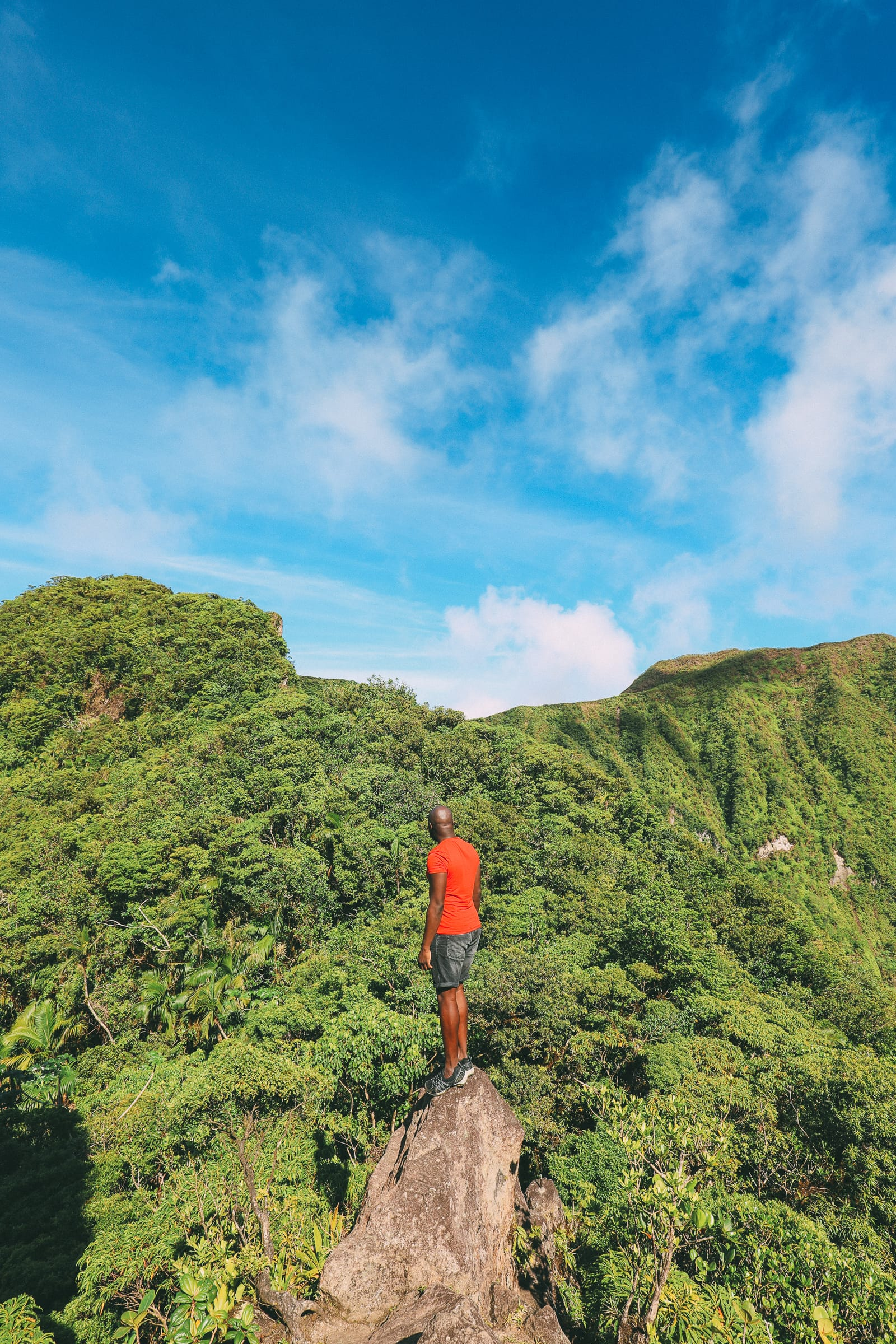Hiking To The Top Of A Volcano... In the Caribbean! (23)