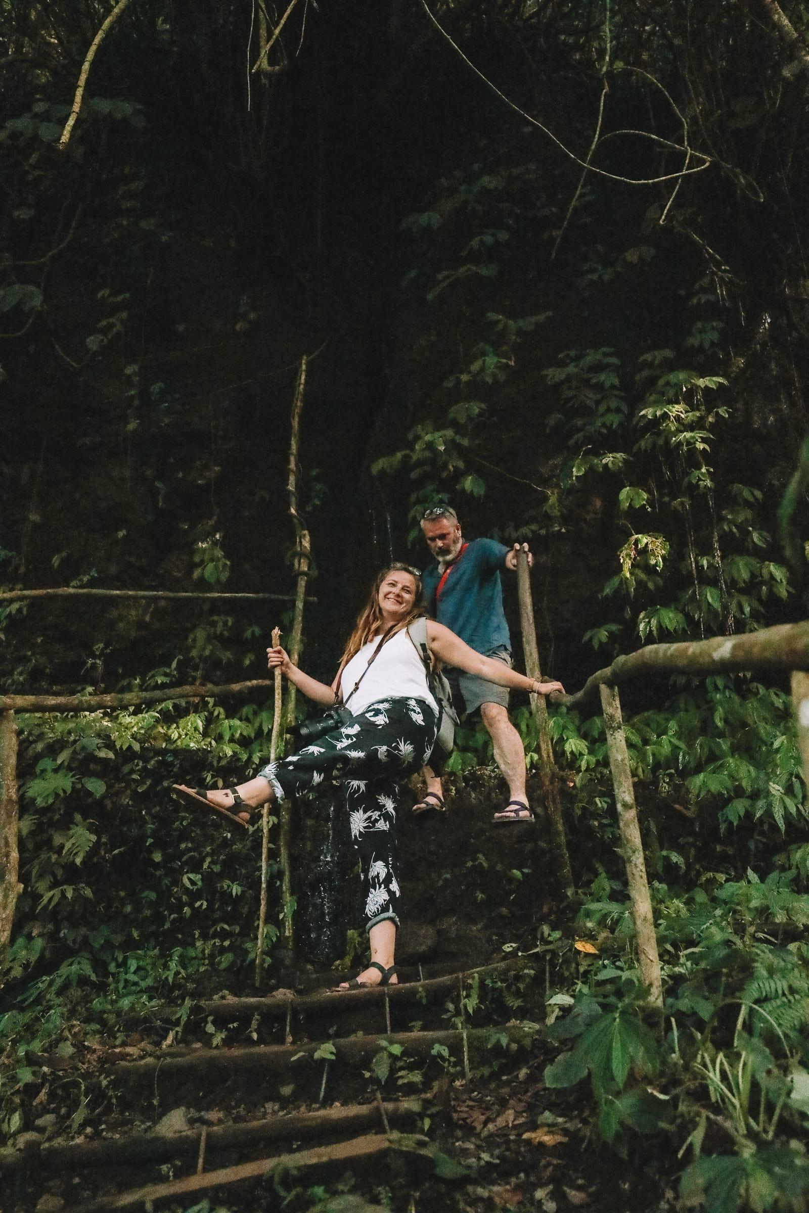 The Amazing Banyumala Twin Waterfalls In The Jungles Of Bali (9)