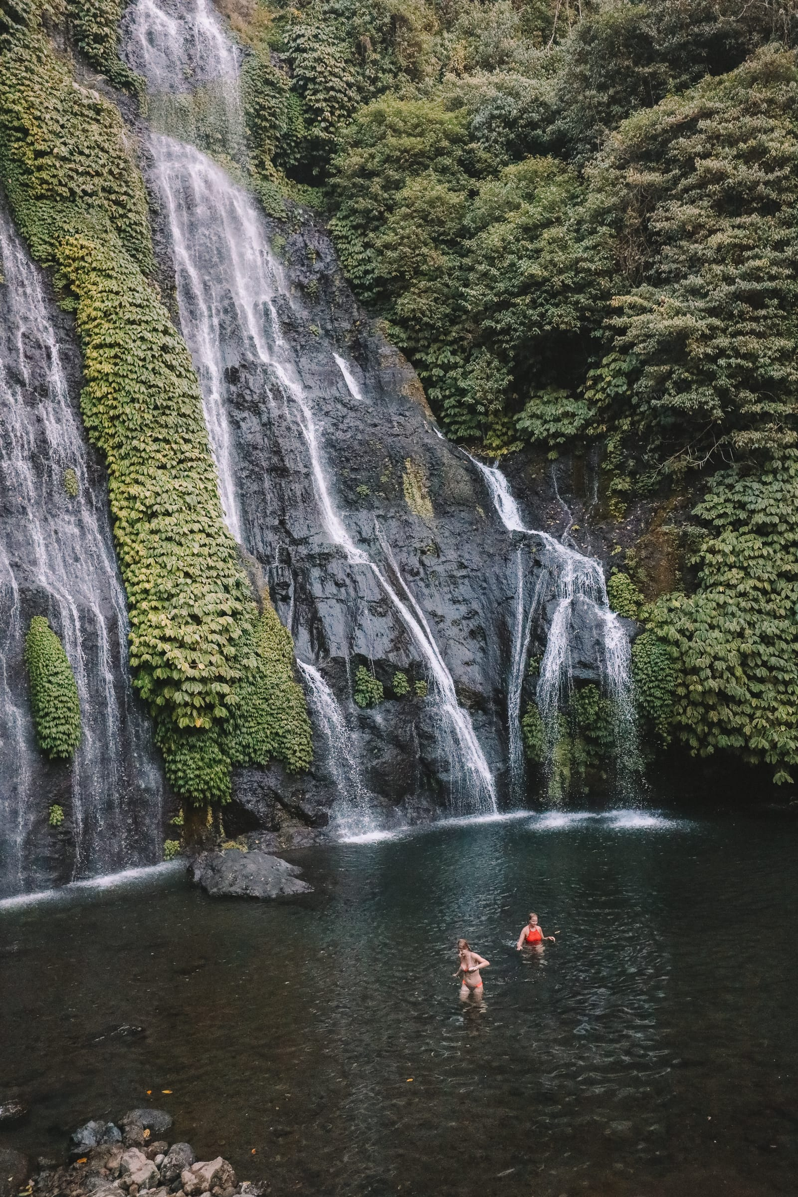The Amazing Banyumala Twin Waterfalls In The Jungles Of Bali (11)