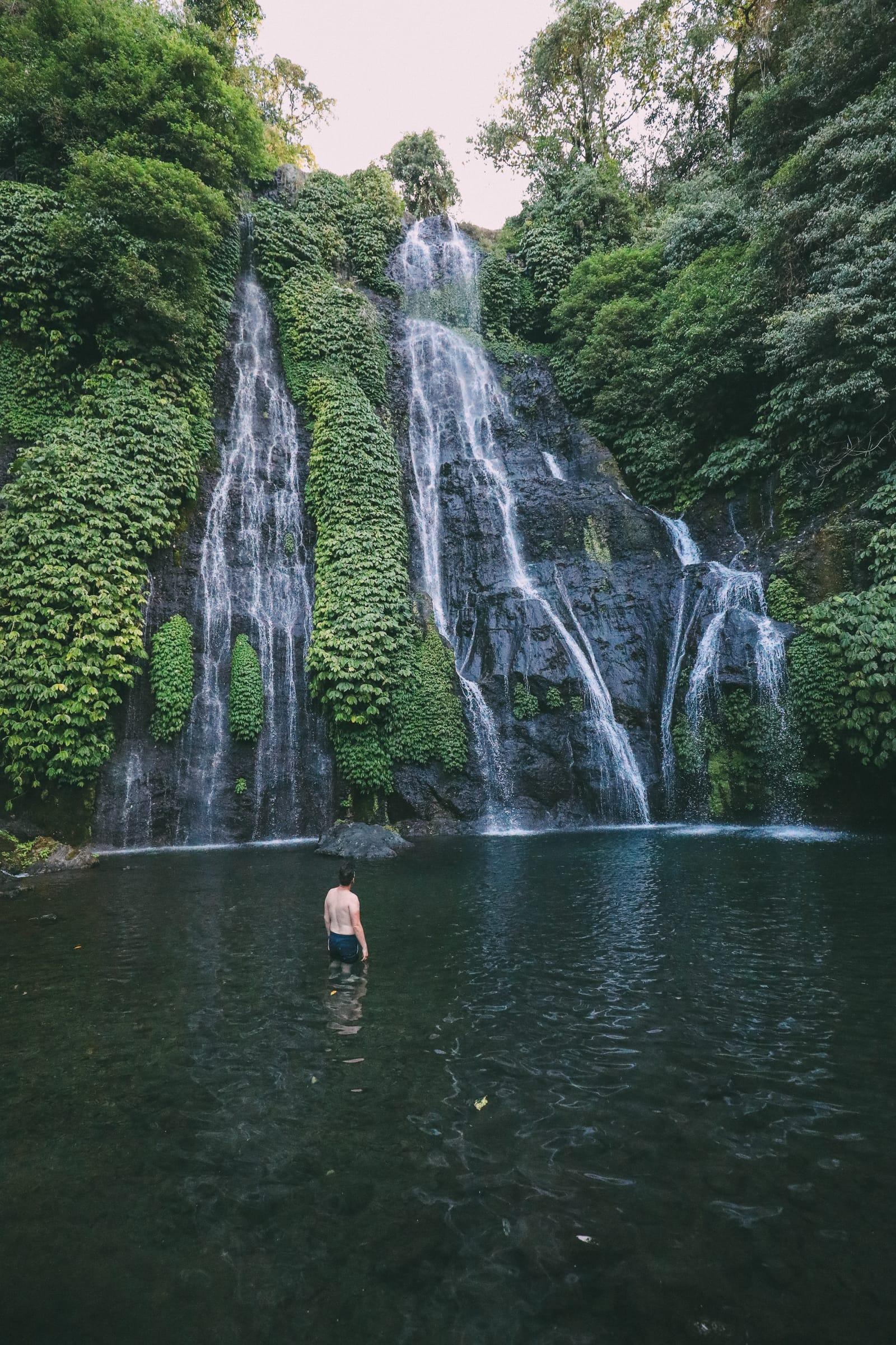 The Amazing Banyumala Twin Waterfalls In The Jungles Of Bali (12)