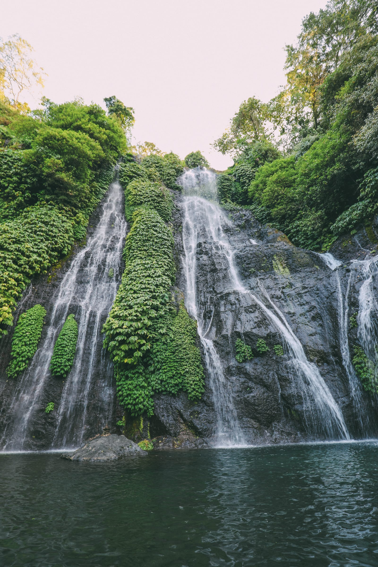 The Amazing Banyumala Twin Waterfalls In The Jungles Of Bali (14)