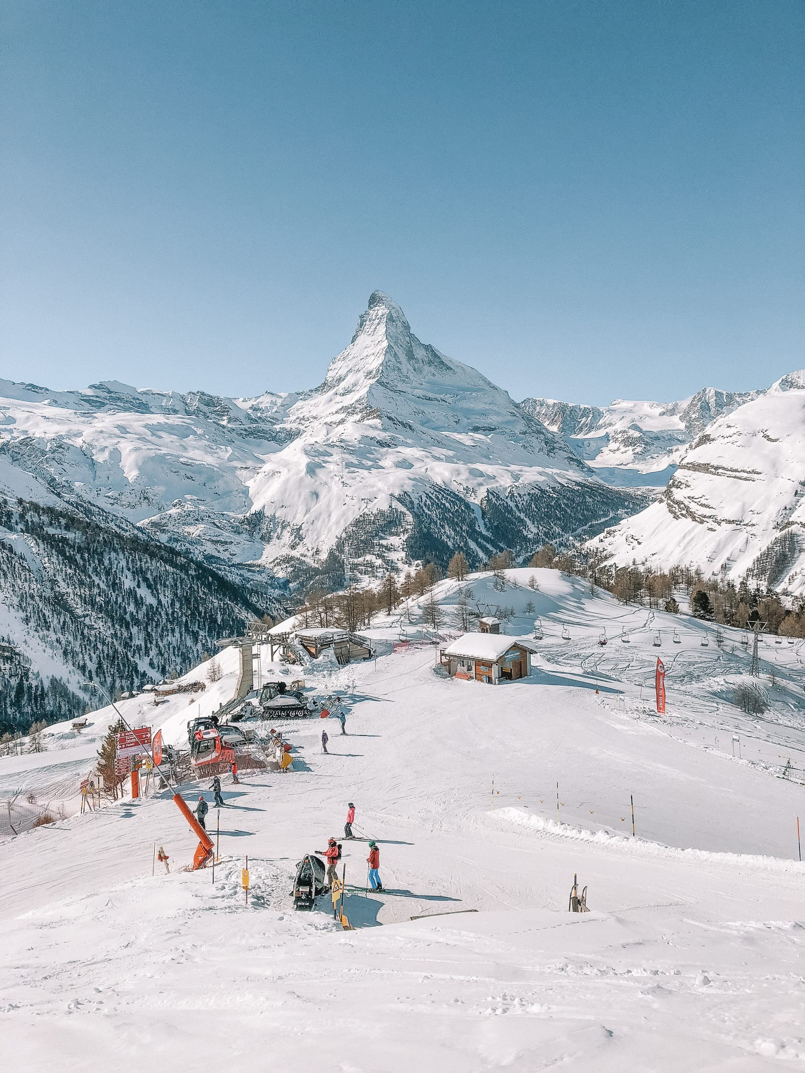 Skiing In Zermatt, Switzerland... (14)