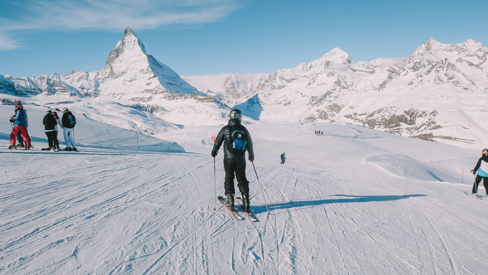Skiing In Zermatt, Switzerland... (4)