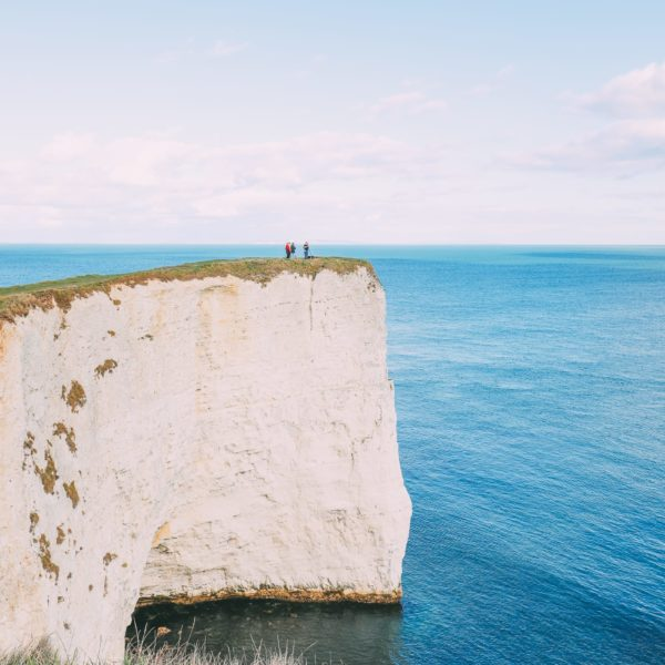 Exploring The Old Harry Rocks Formation On The Jurassic Coast Of England (29)