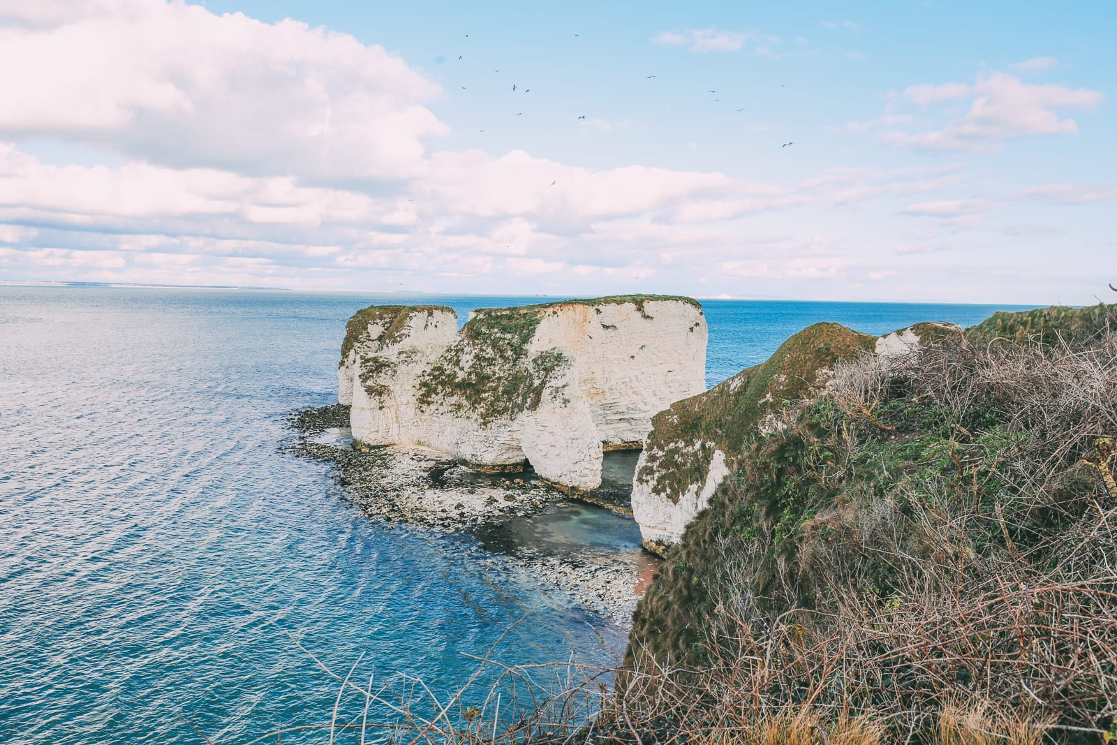 Exploring The Old Harry Rocks Formation On The Jurassic Coast Of England (35)