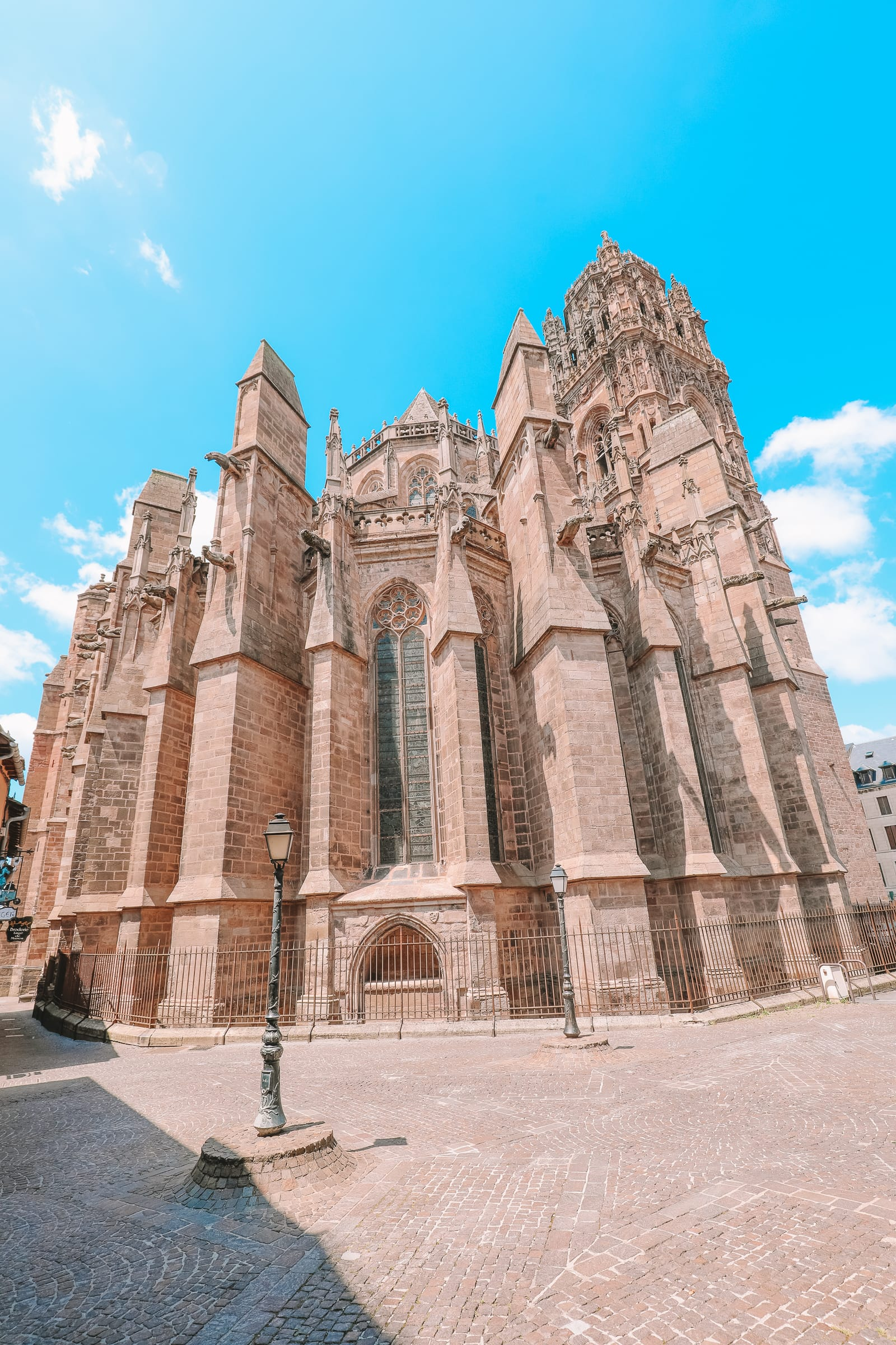 The Pretty Little City Of Rodez In The South Of France (17)
