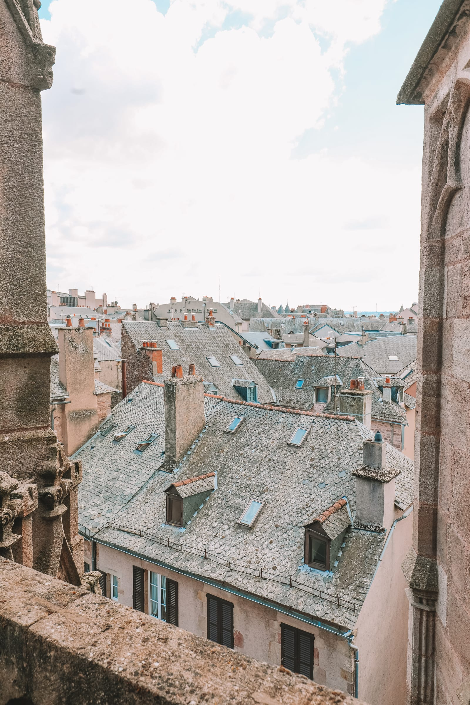 The Pretty Little City Of Rodez In The South Of France (33)