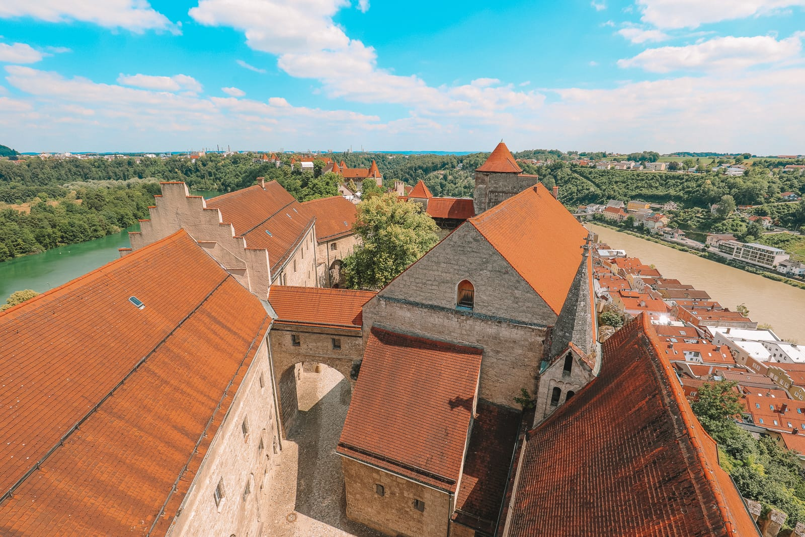 Burghausen Castle - The Longest Castle In The Entire World! (53)