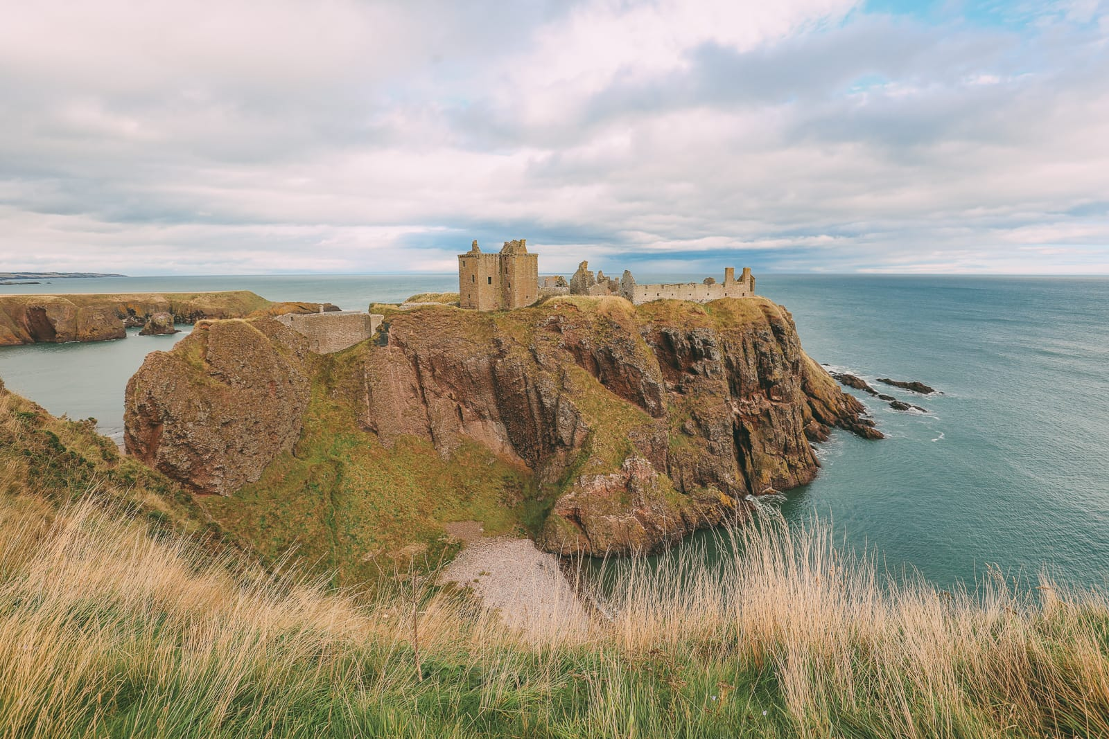 Exploring The Ancient Dunnottar Castle... In Stonehaven, Scotland (9)
