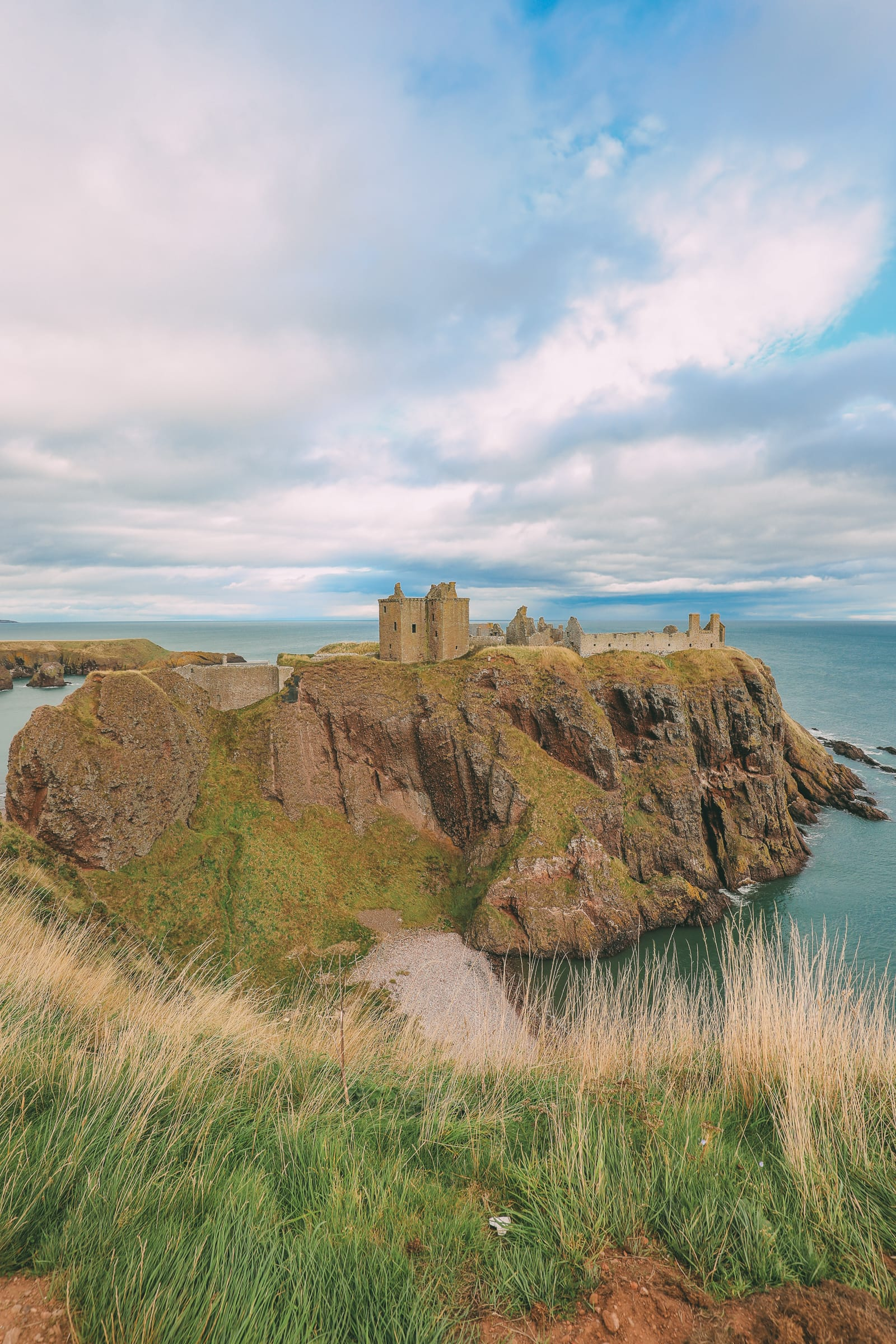Exploring The Ancient Dunnottar Castle… In Stonehaven, Scotland