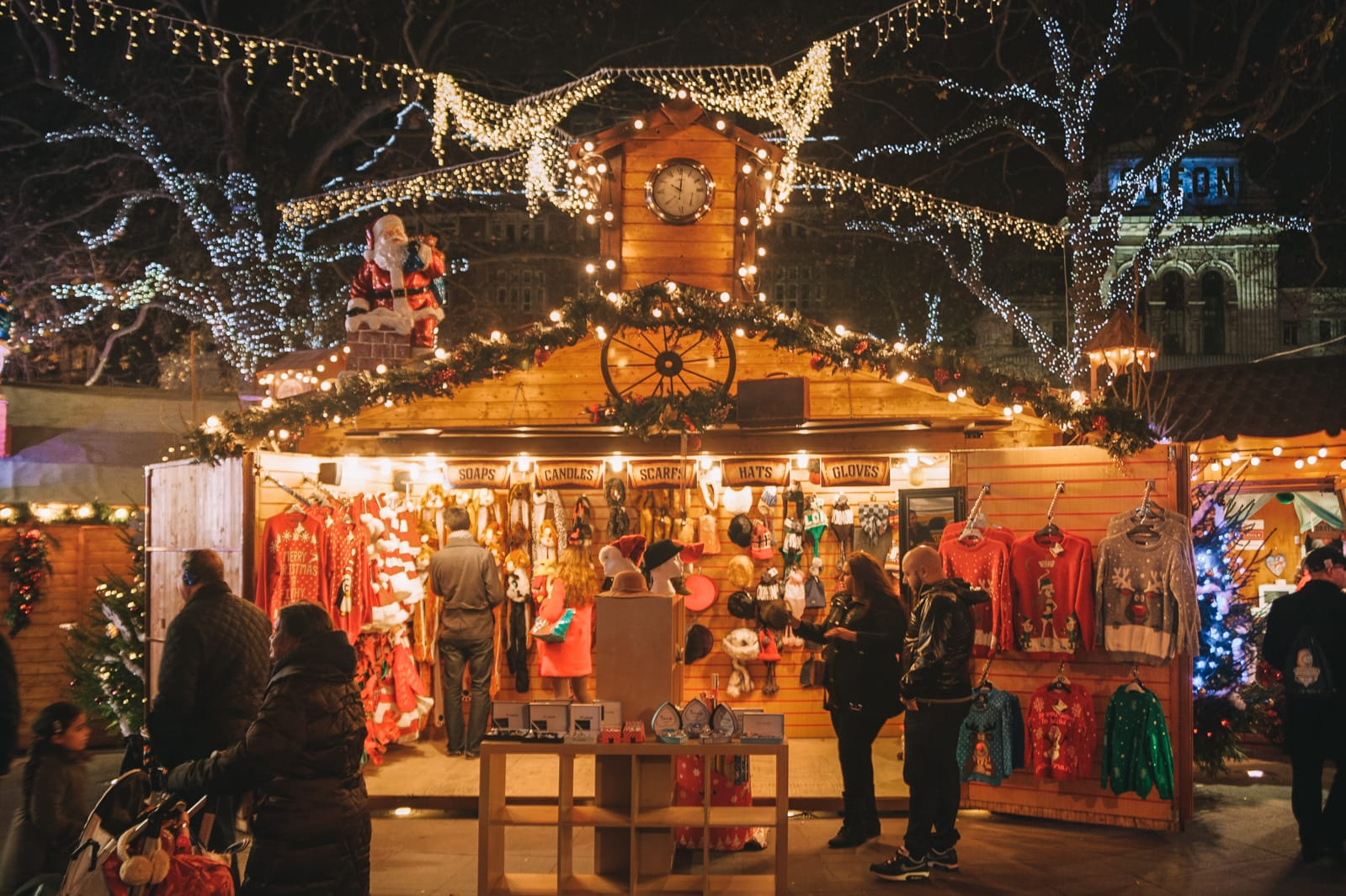 Christmas In London.8 Of The Best London Christmas Markets In 2019 Hand