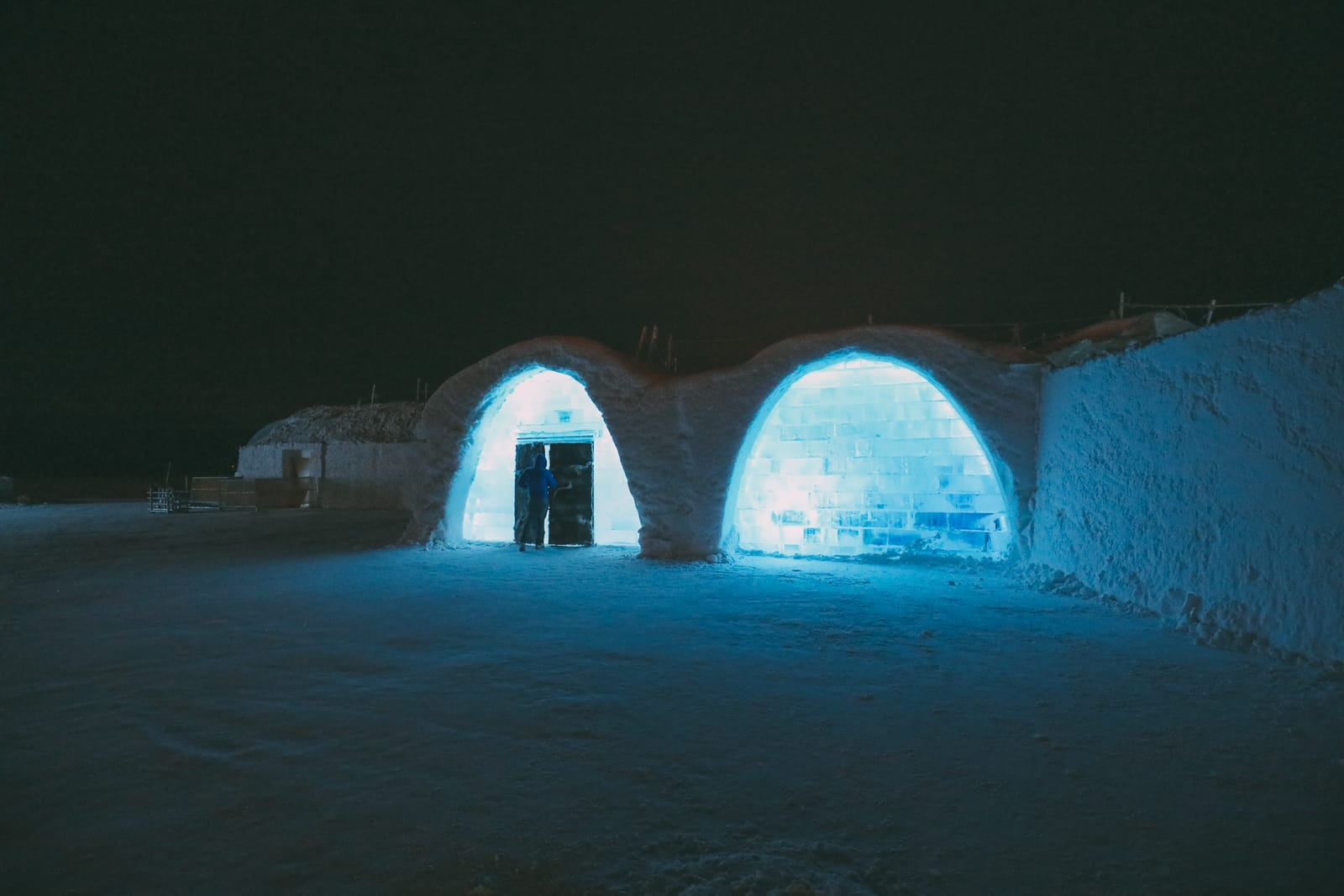 Arrival At The ICEHOTEL In Lapland, Sweden (29)