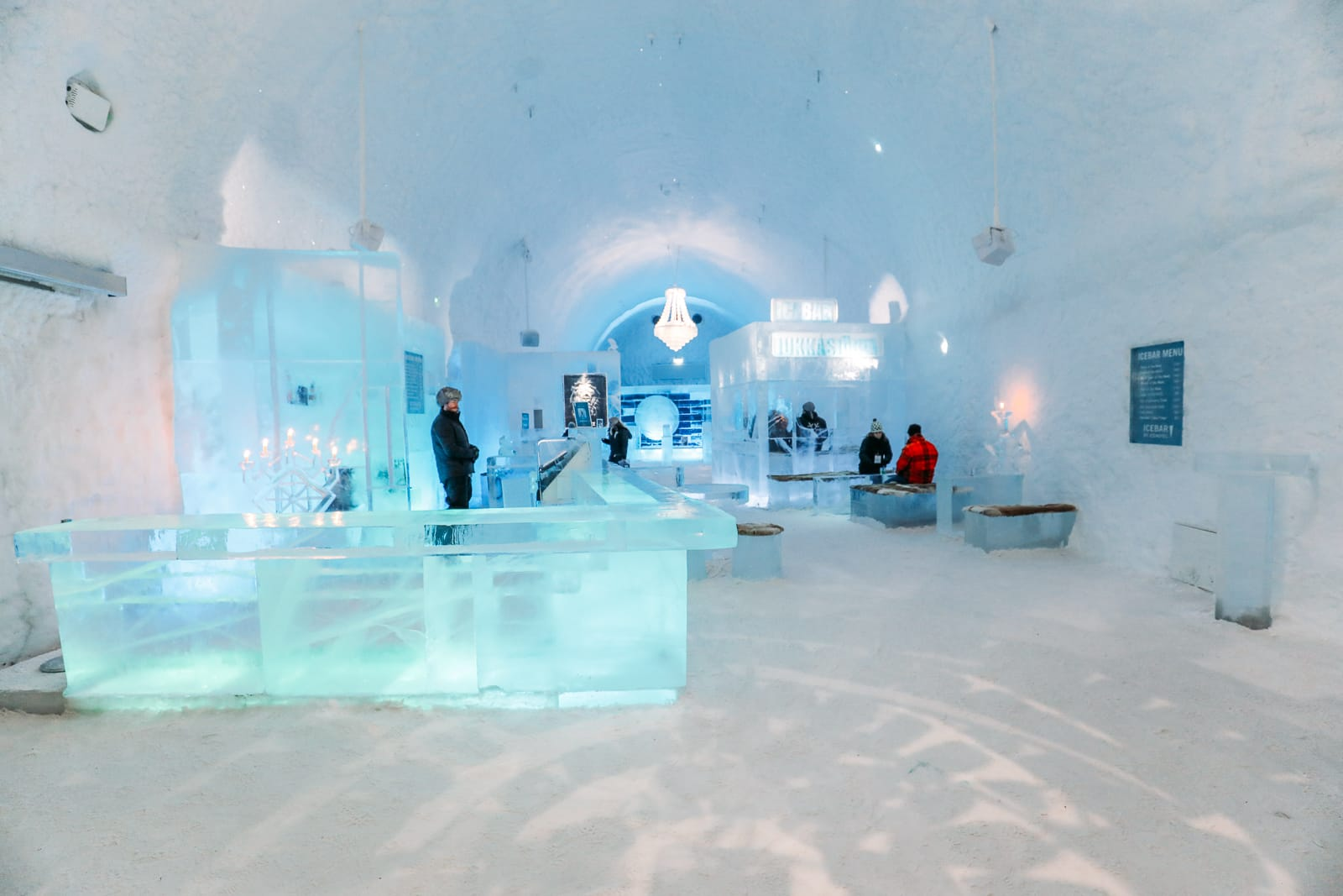 Arrival At The ICEHOTEL In Lapland, Sweden (33)