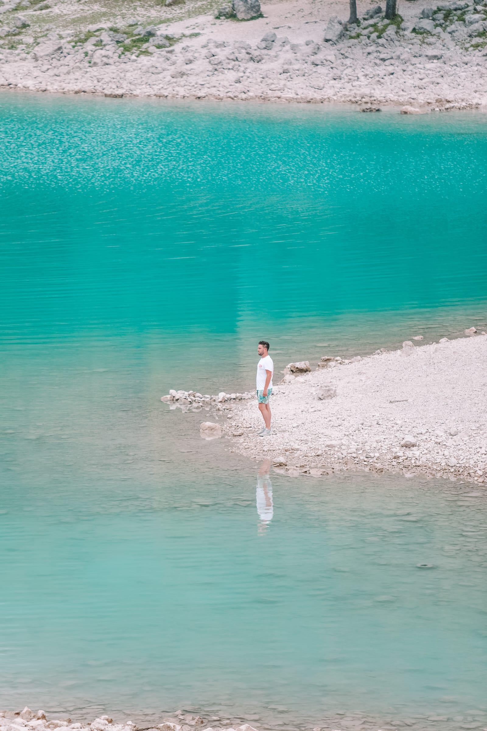 The Beautiful Lago Di Tenno, Cascate Del Varone And Completing A Via Ferrata In Lake Garda, Italy (21)
