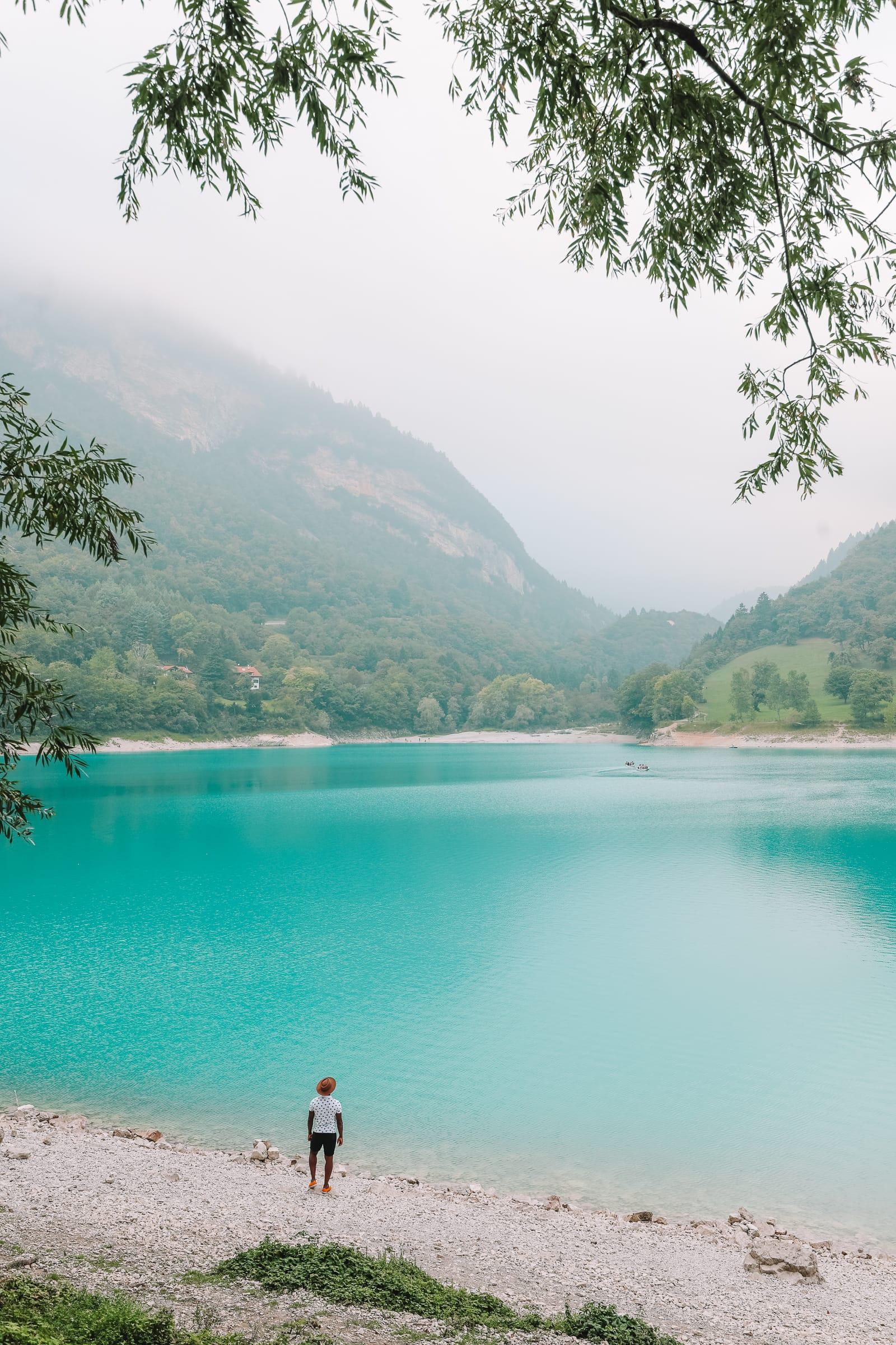 The Beautiful Lago Di Tenno, Cascate Del Varone And Completing A Via Ferrata In Lake Garda, Italy (23)