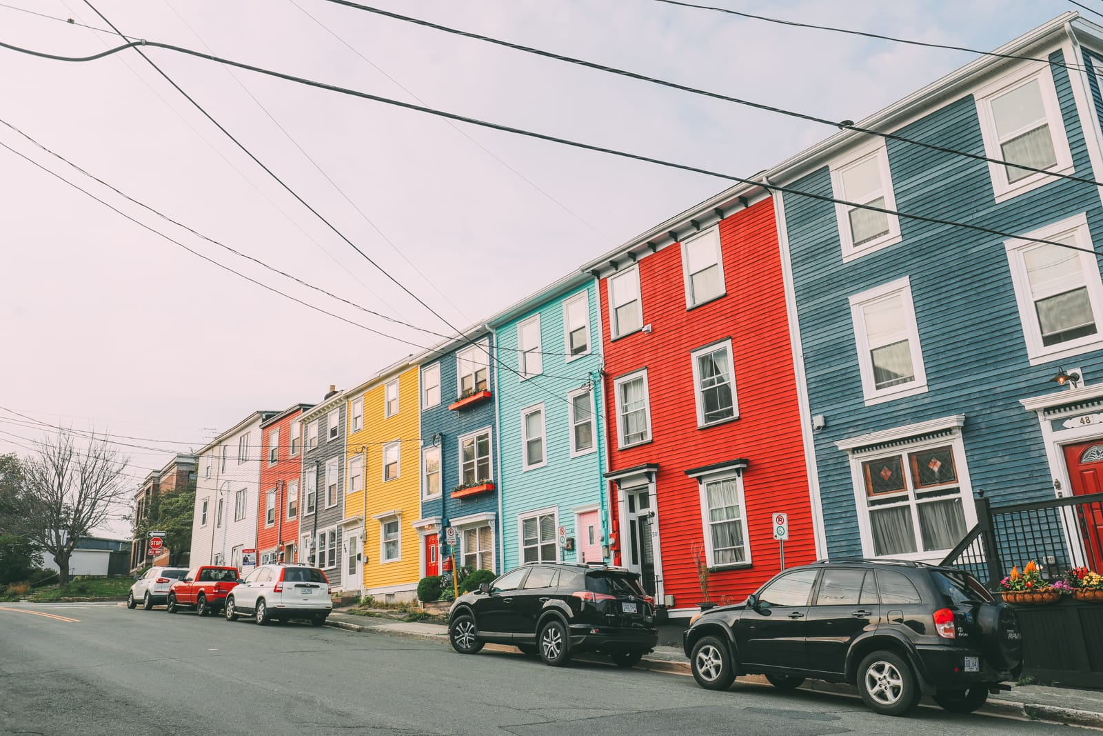 The Colourful Houses Of St John's, Newfoundland (5)