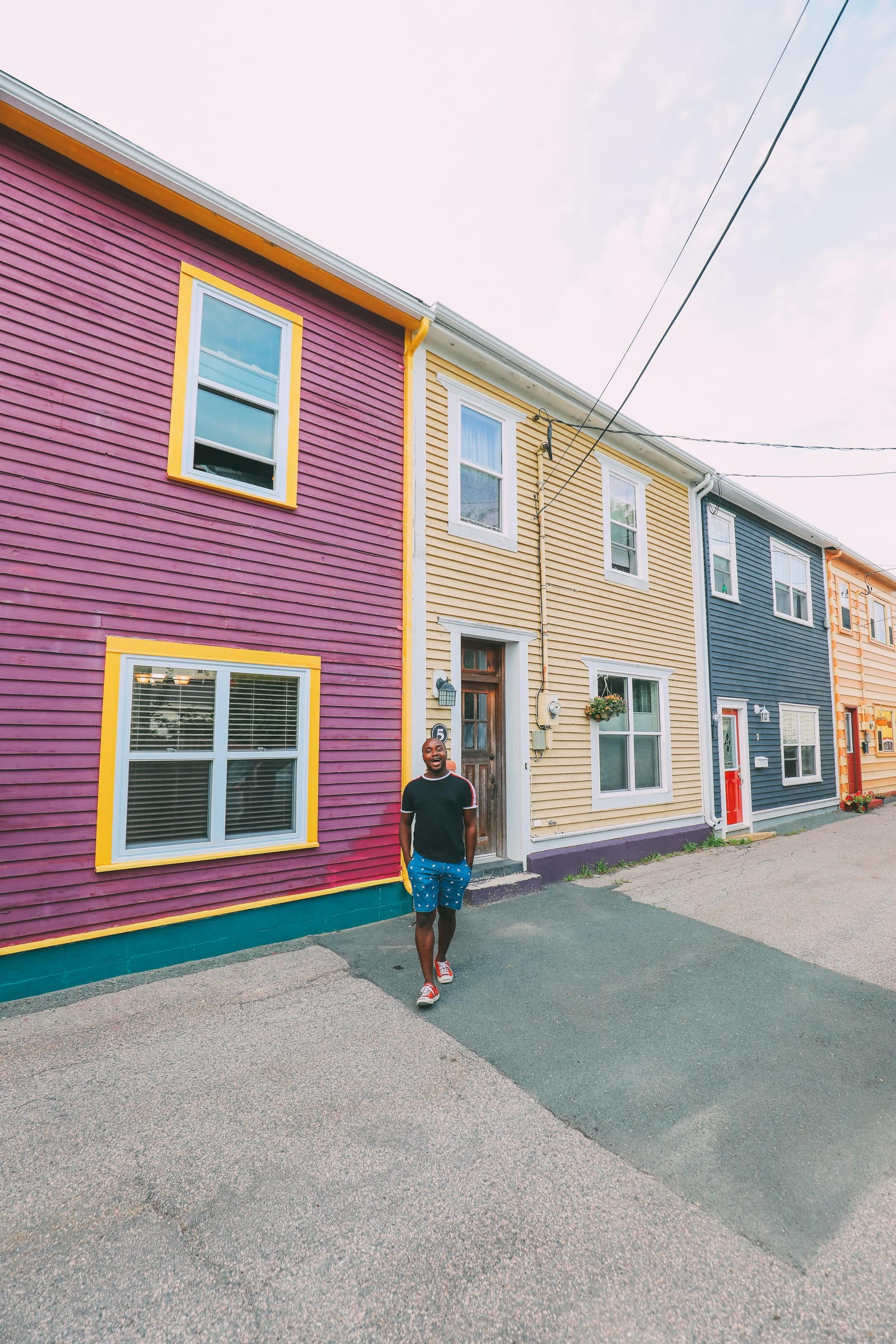 The Colourful Houses Of St John's, Newfoundland (6)